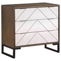 Kaleidoscope Coast to Coast Accents Three Drawer Chest w/ Power - Item Number: 22622