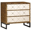 Coast to Coast Imports Coast to Coast Accents Three Drawer Chest w/ Power - Item Number: 22623