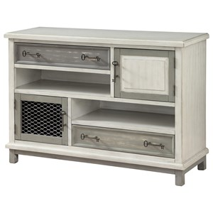 Coast to Coast Imports Coast to Coast Accents Two Drawer Two Door Media Credenza