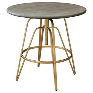 Adjustable Round Pub Table
