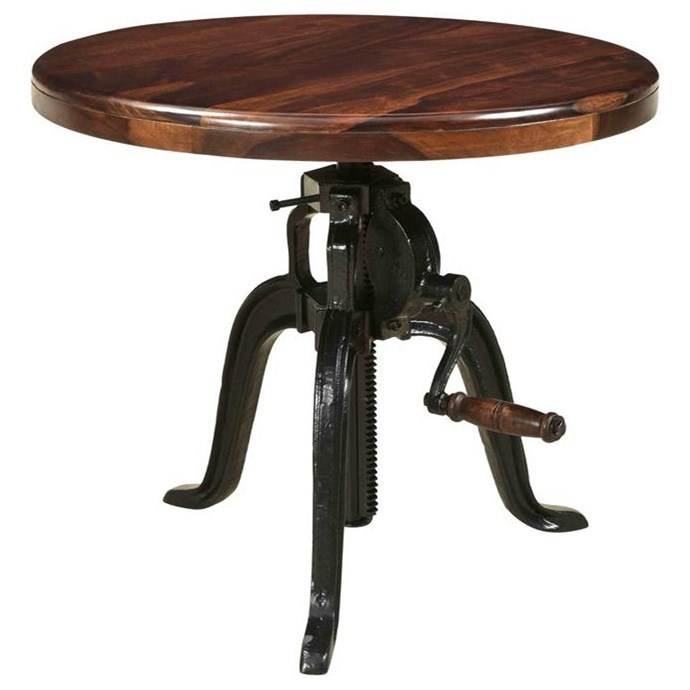 asdf Adjustable Round Accent Table by Coast to Coast Imports at Johnny Janosik