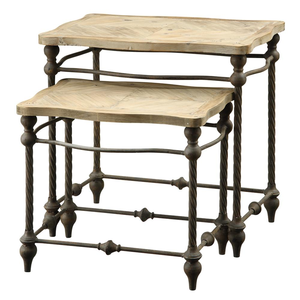 Coast to Coast Imports Coast to Coast Accents Two Tier Nested Table - Item Number: 43312