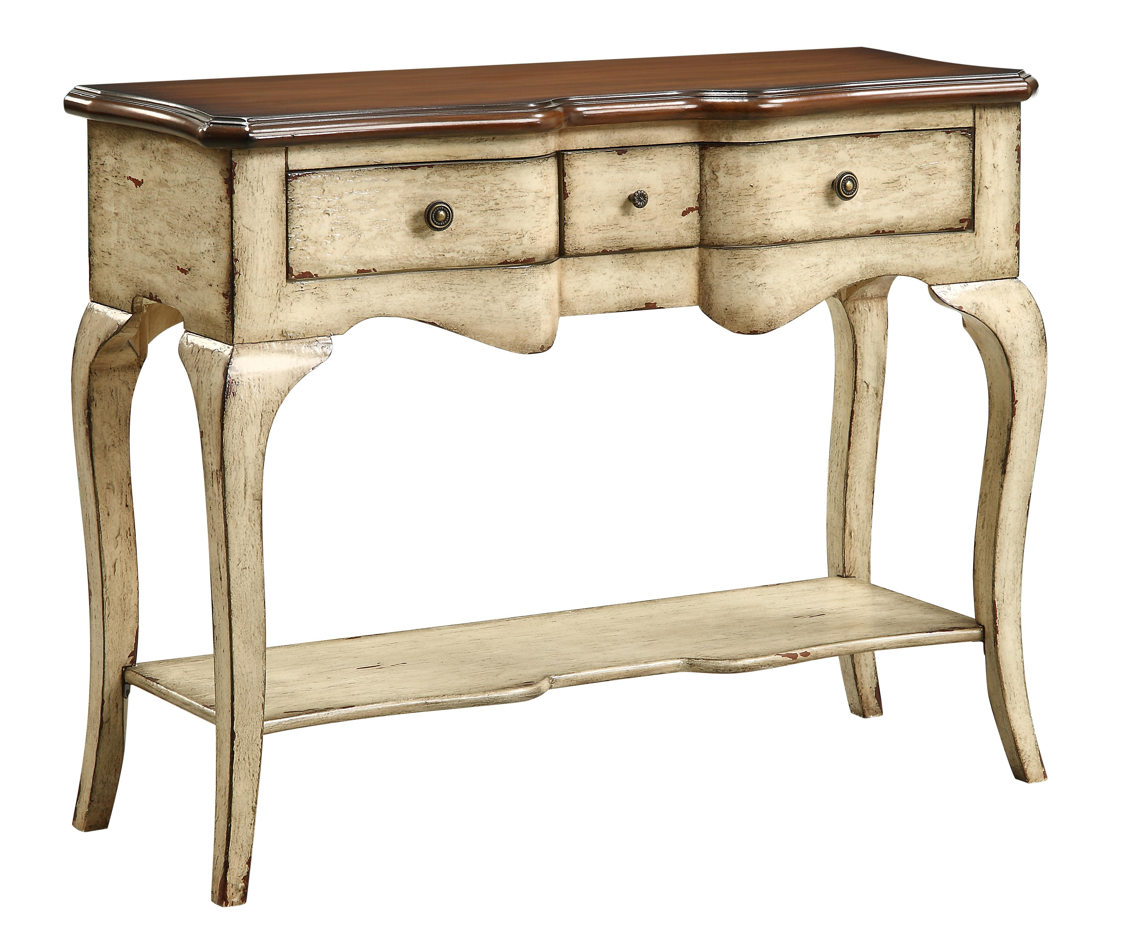 Coast to Coast Imports Coast to Coast Accents Three Drawer Console Table - Item Number: 43345