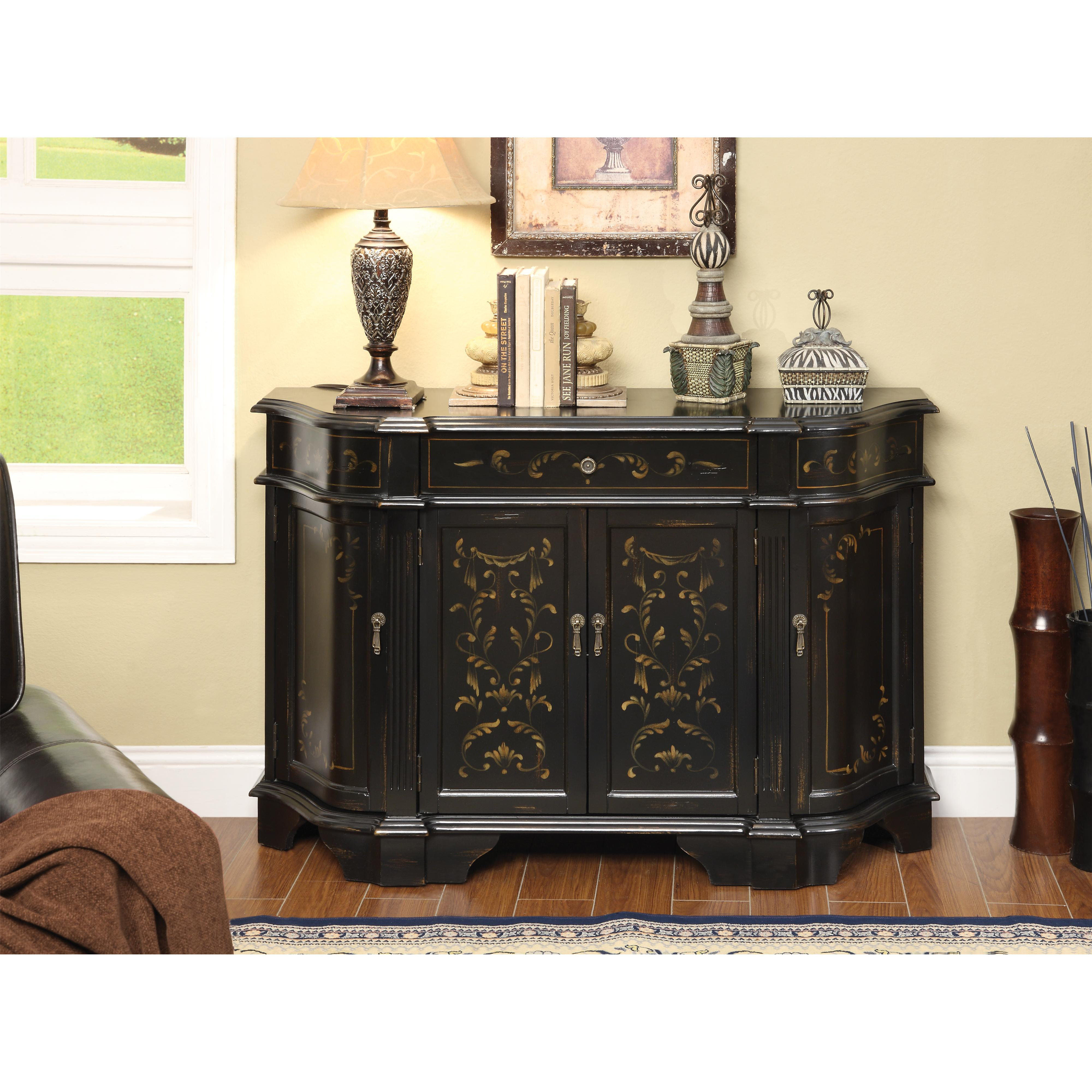 Coast to Coast Imports Coast to Coast Accents One Drawer Four Door Credenza - Item Number: 43365
