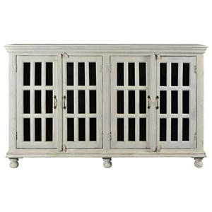 Transitional 4-Door Credenza