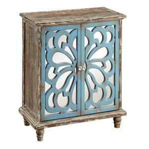 Coast to Coast Accents Rustic 2 Door Cabinet with Interior Shelf by Coast to Coast Imports