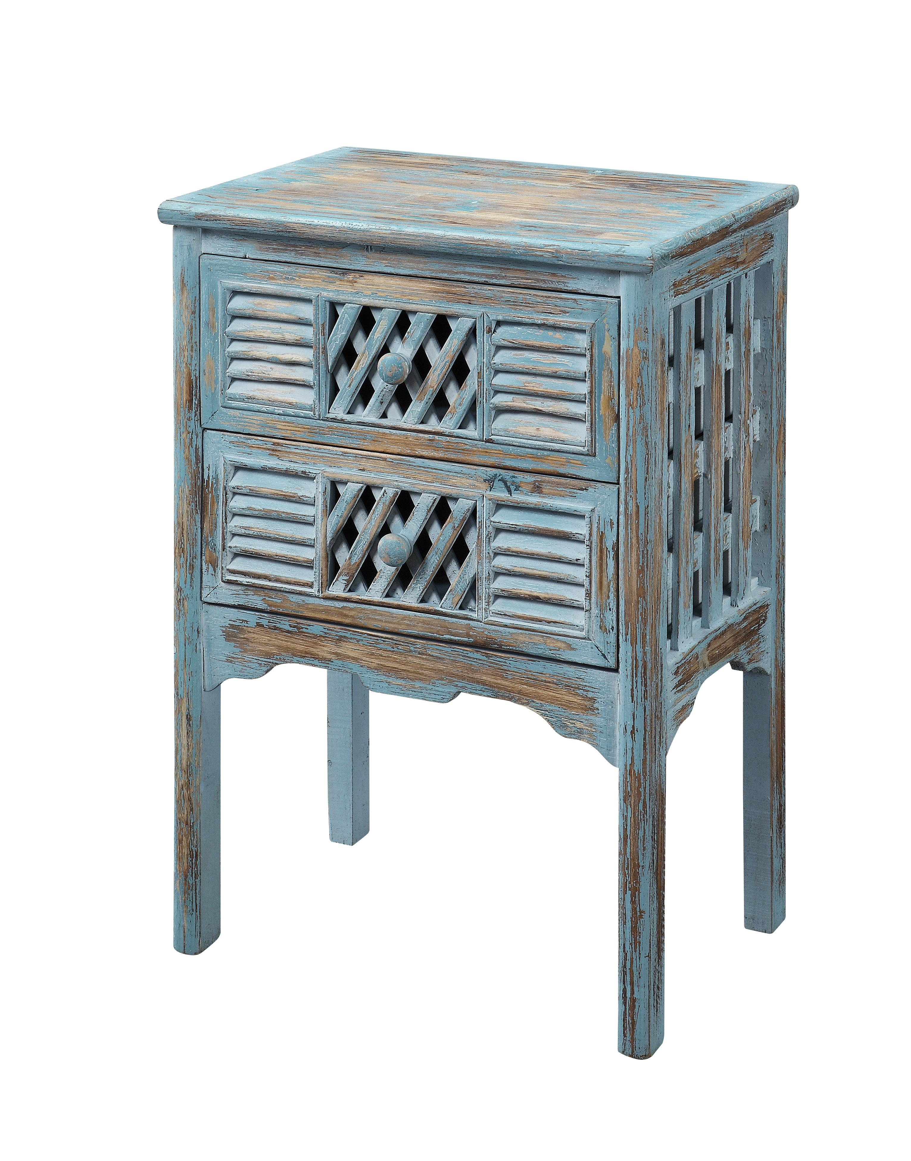 Coast to Coast Imports Coast to Coast Accents Two Drawer Accent Table - Item Number: 50638