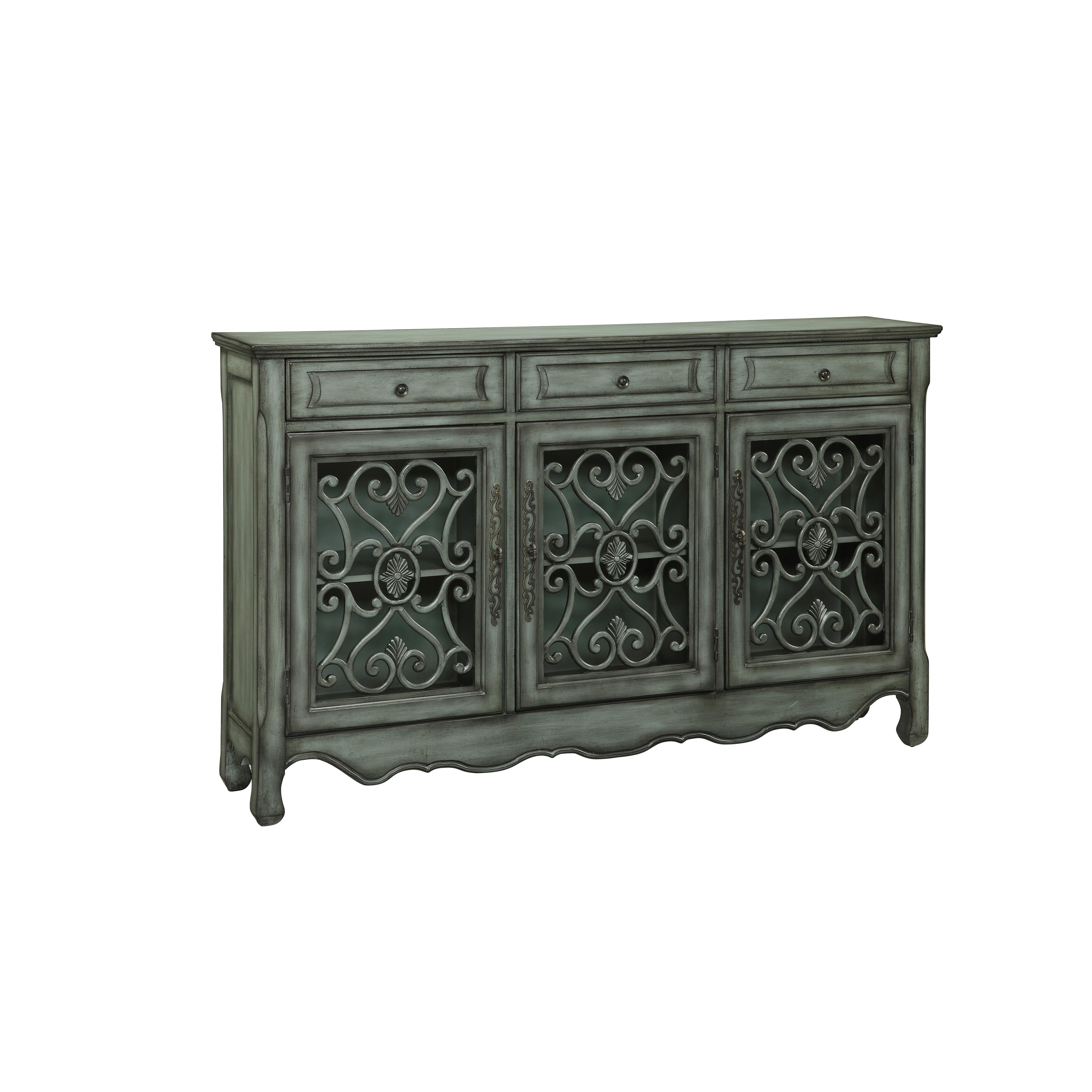 Three Drawer Three Door Credenza