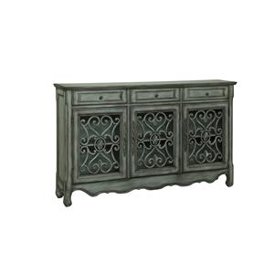 Coast to Coast Imports Morris Home Pineville Three Drawer Three Door Credenza
