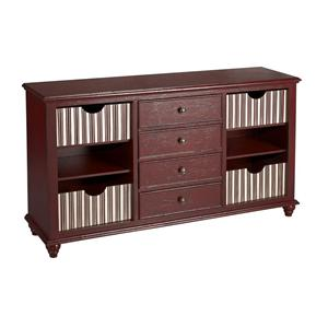 Coast to Coast Imports Coast to Coast Accents Four Drawer Media/Credenza