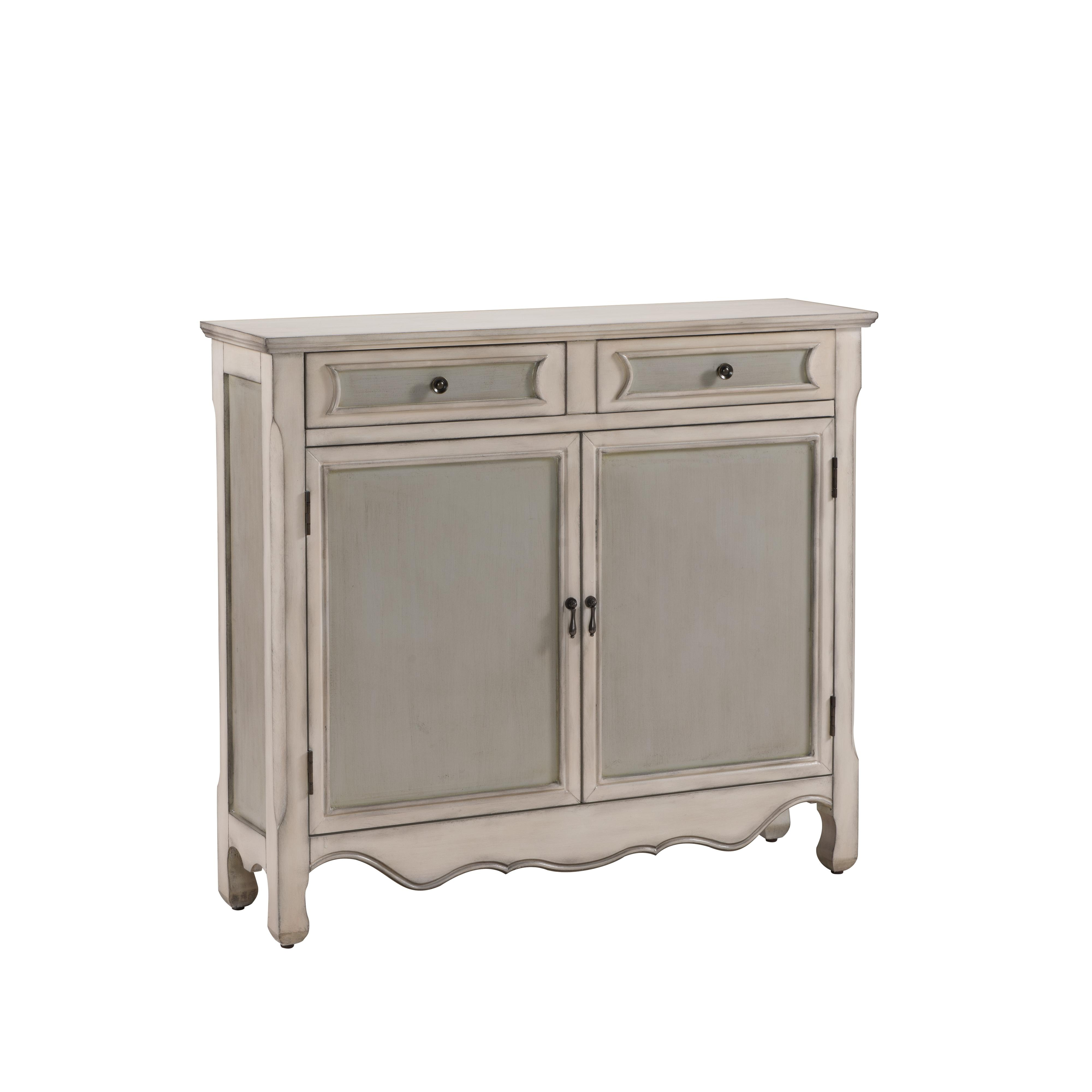Coast to Coast Imports Coast to Coast Accents Two Drawer Two Door Cupboard - Item Number: 61699