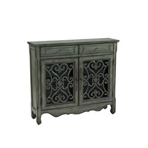 Coast to Coast Imports Coast to Coast Accents Two Drawer Two Door Cupboard