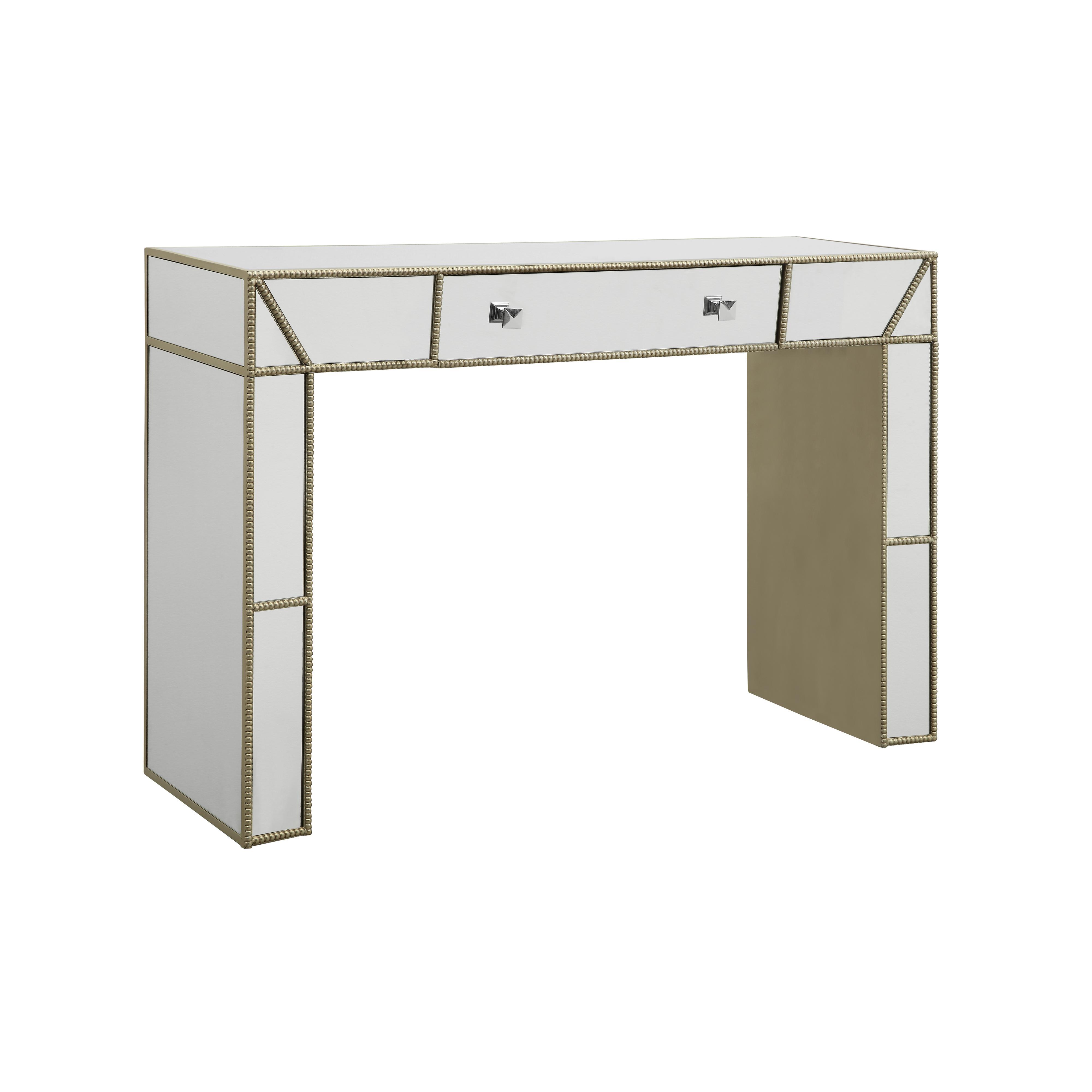 Coast to Coast Imports Coast to Coast Accents Mirrored Desk - Item Number: 61705