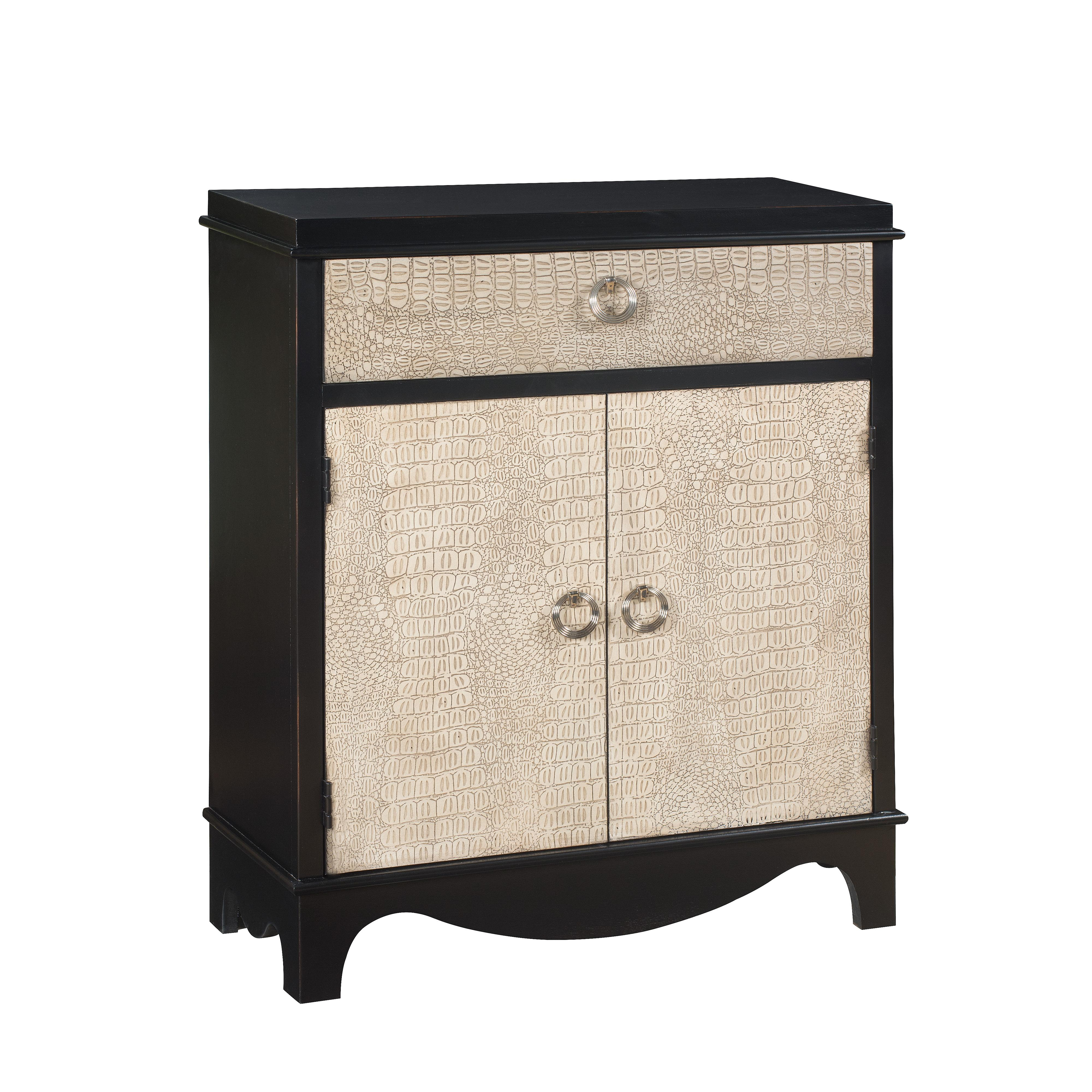 Coast to Coast Imports Coast to Coast Accents One Drawer Two Door Cabinet - Item Number: 67405