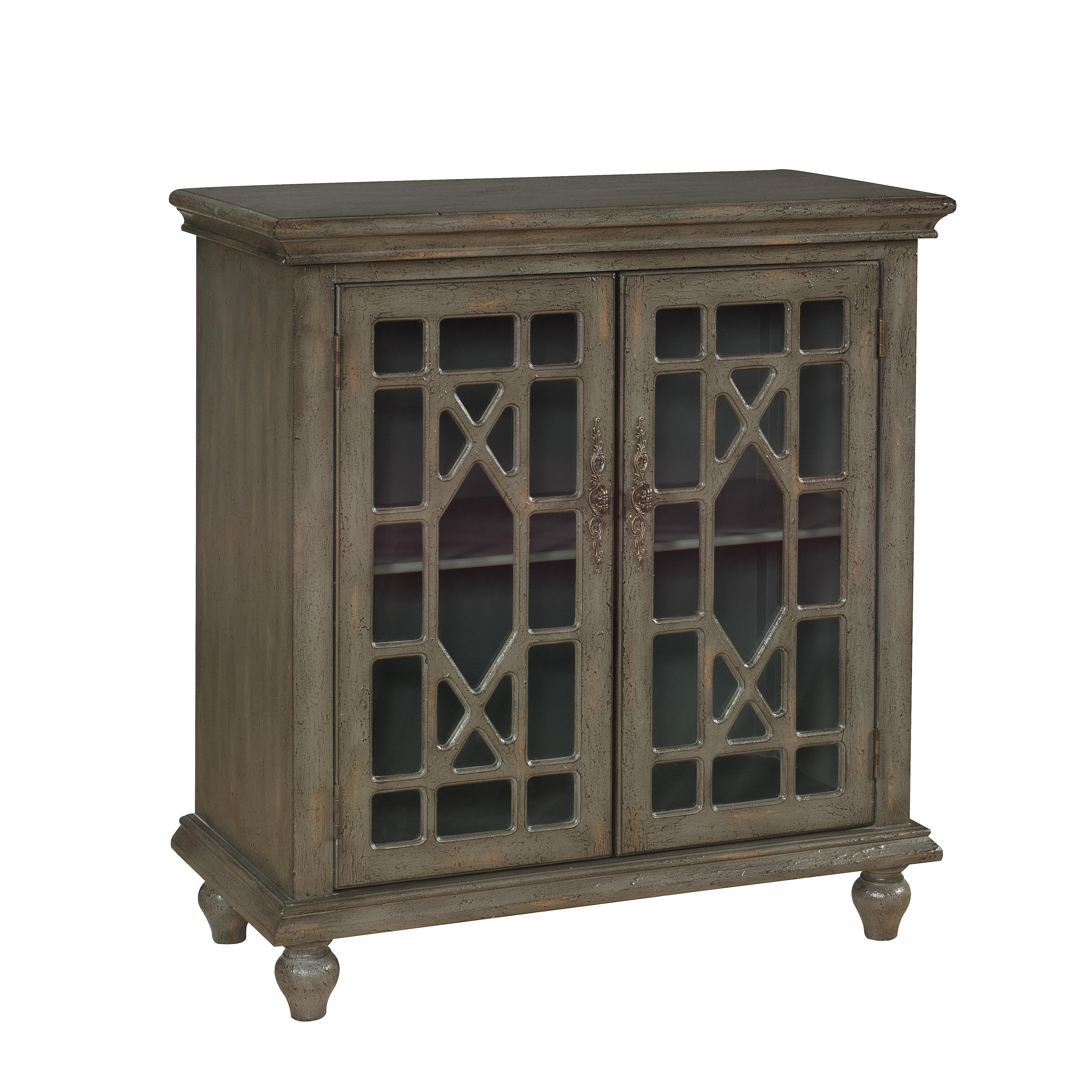 Coast to Coast Imports Coast to Coast Accents Two Door Cabinet - Item Number: 67422
