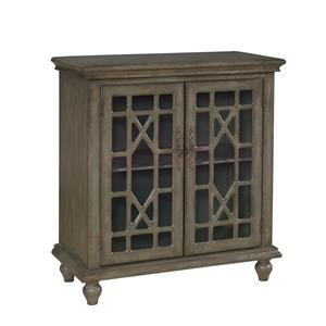 Coast to Coast Imports Accents 2 Door Cabinet