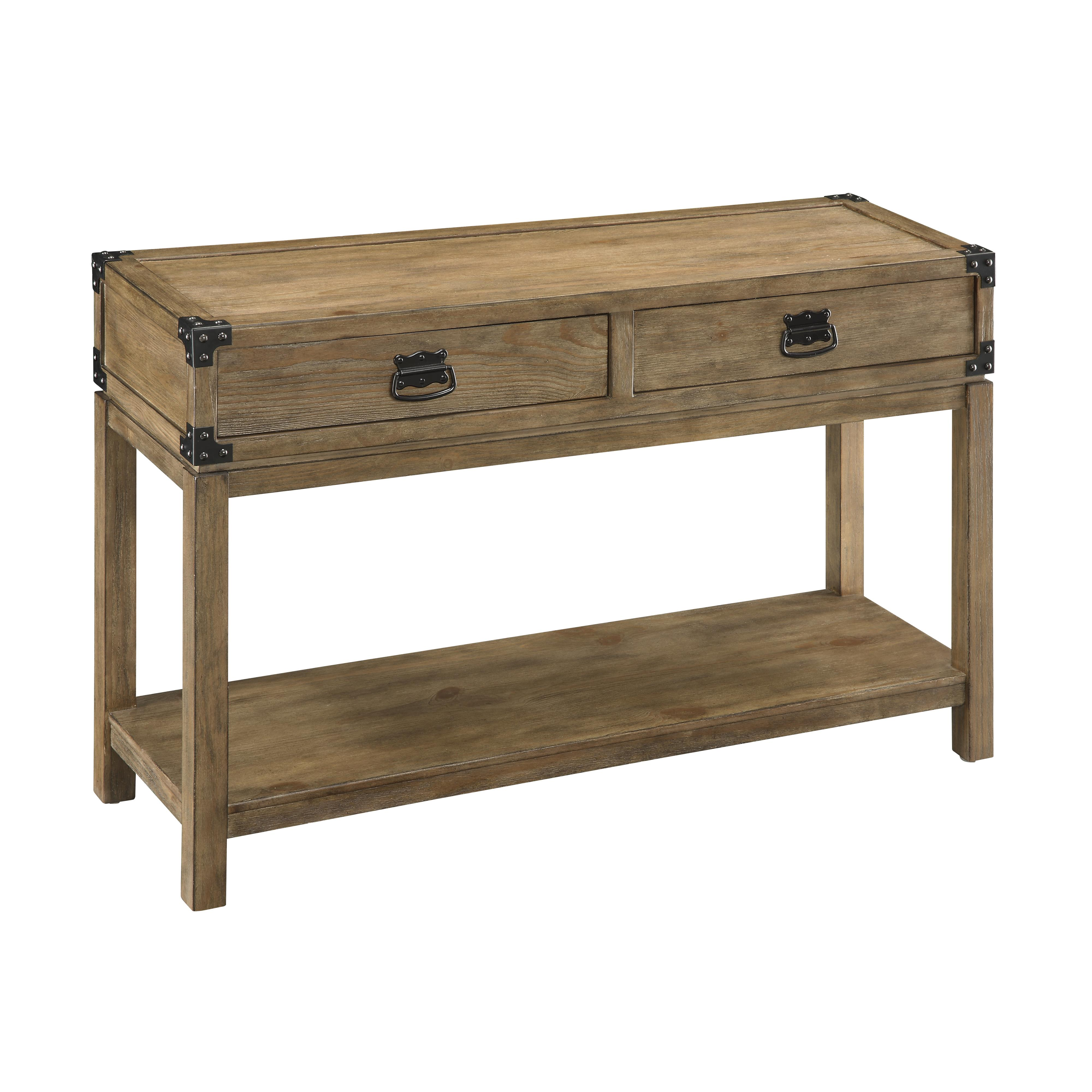 Two Drawer Console Table