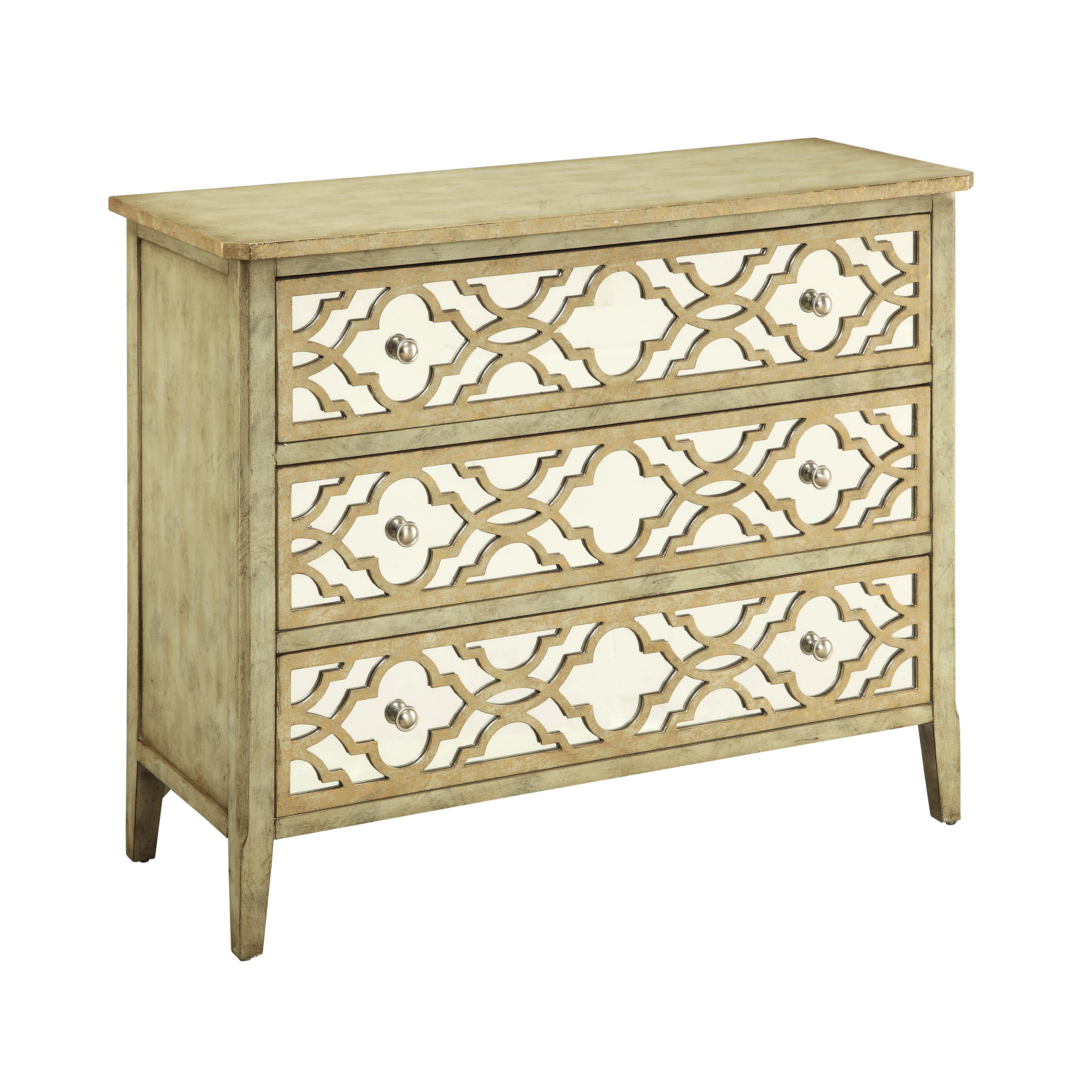 Coast to Coast Imports Coast to Coast Accents Three Drawer Chest - Item Number: 67466