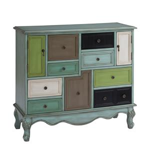Ruby-Gordon Accents Ruby-Gordon Accents Nine Drawer Two Door Cabinet
