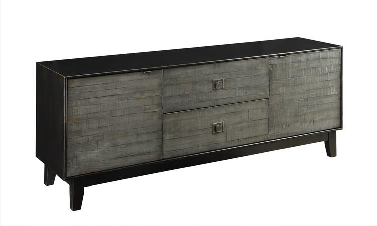 Coast to Coast Imports Coast to Coast Accents Two Drawer Two Door Media Console - Item Number: 67502