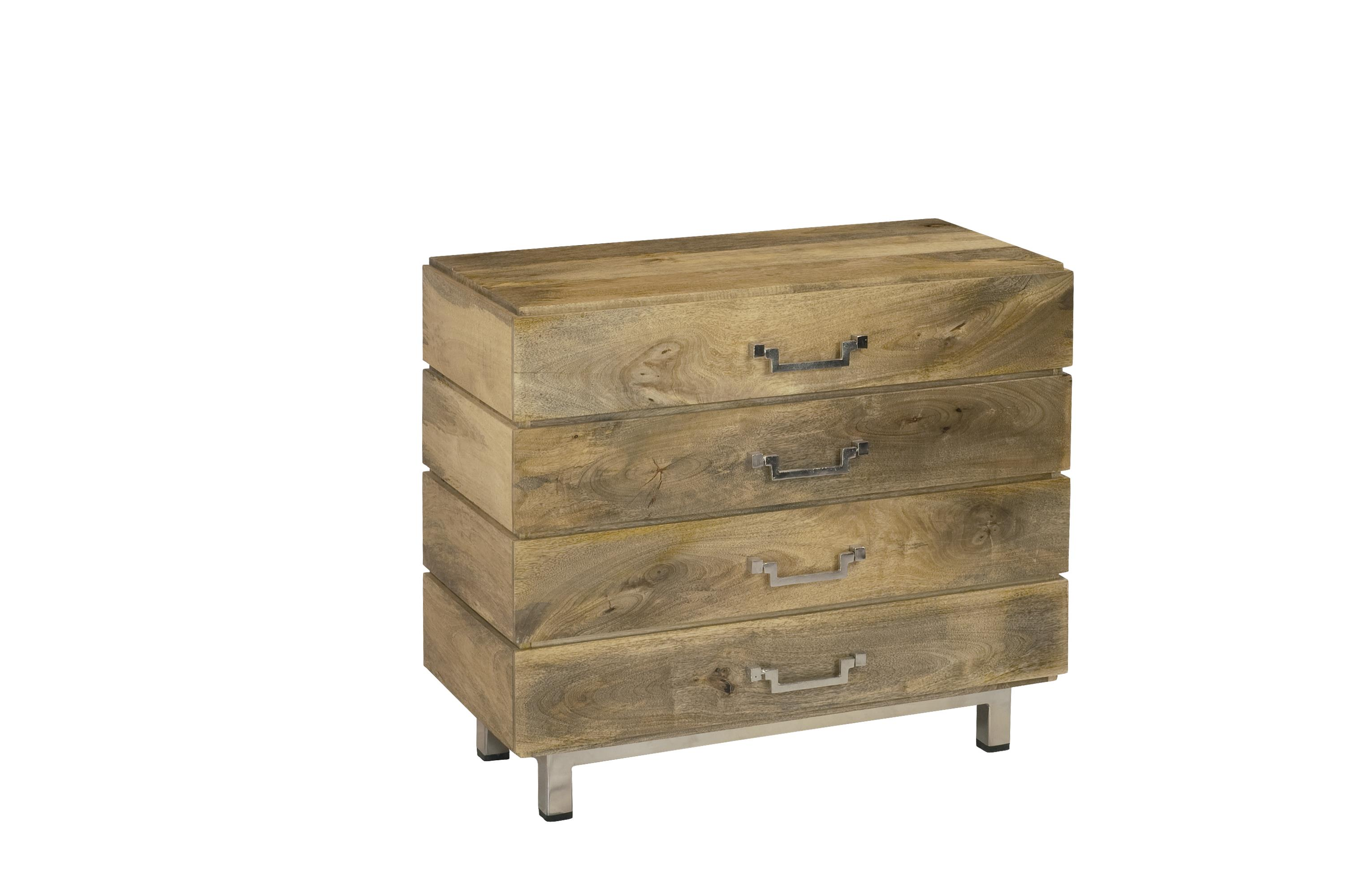 Coast to Coast Imports Coast to Coast Accents Four Drawer Chest - Item Number: 68203