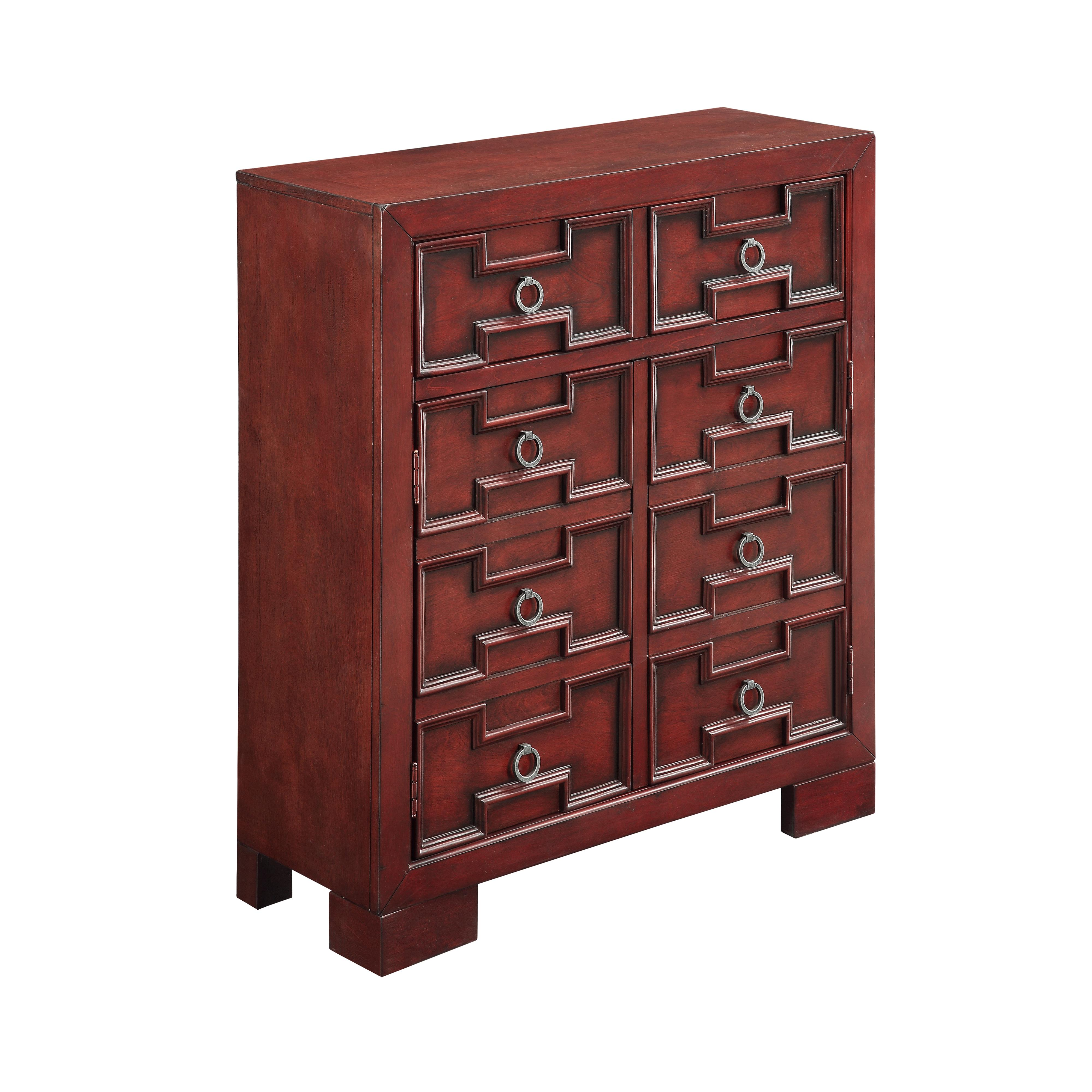 Coast to Coast Imports Coast to Coast Accents Two Door One Drawer Cabinet - Item Number: 70712
