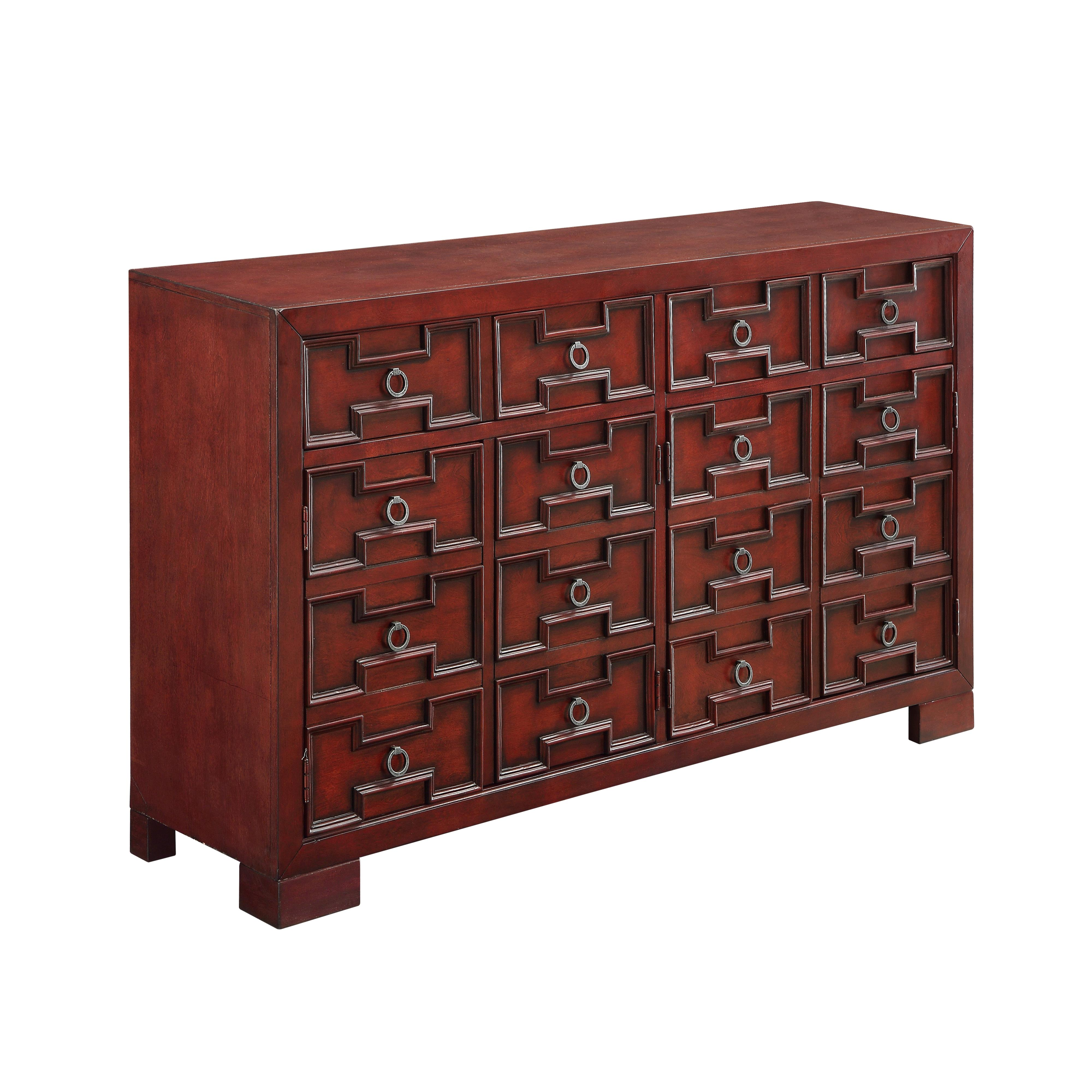 Coast to Coast Imports Coast to Coast Accents Four Door Two Drawer Media Credenza - Item Number: 70714