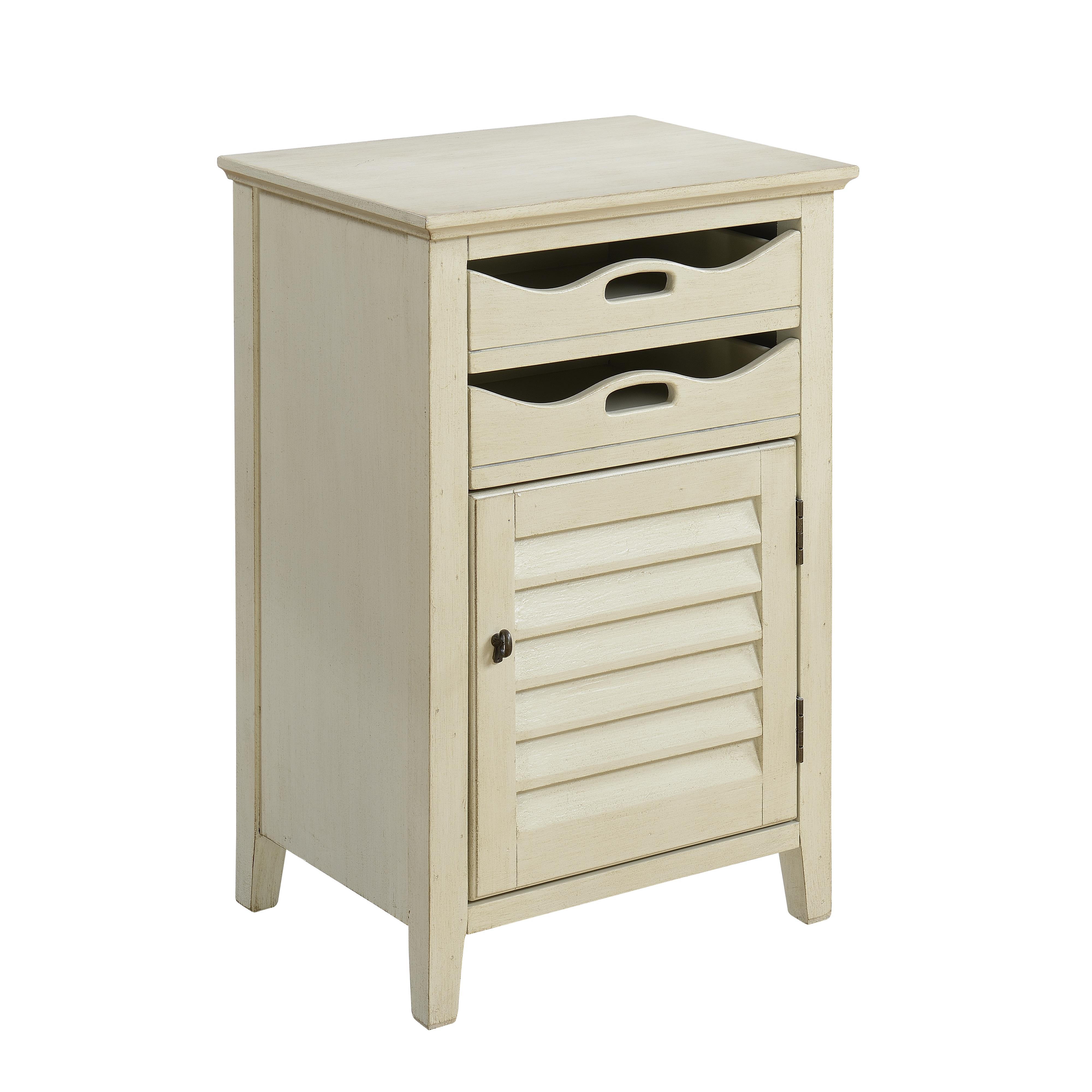 Coast to Coast Imports Coast to Coast Accents One Door Two Drawer Cabinet - Item Number: 70737
