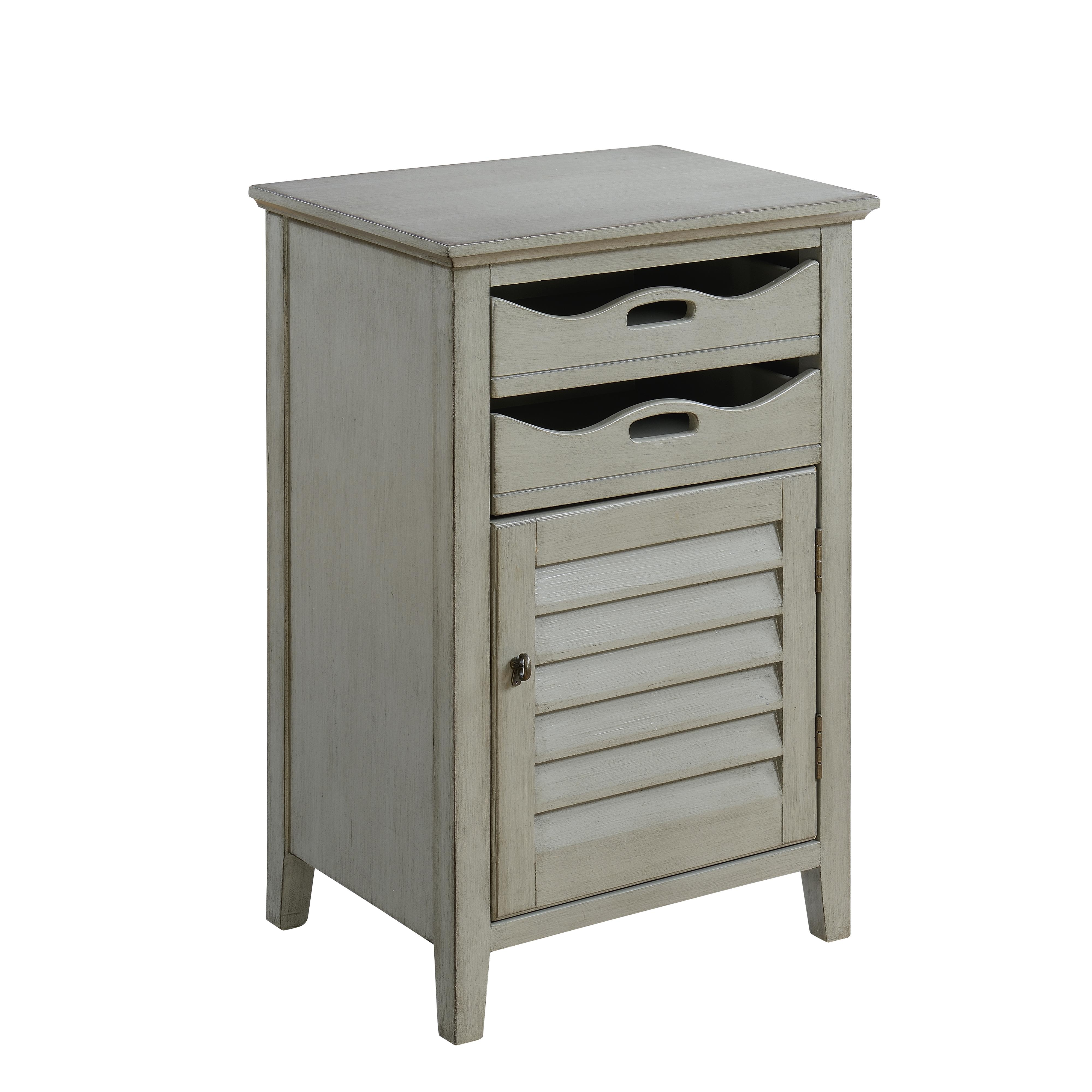 Coast to Coast Accents One Door Two Drawer Cabinet by Coast to Coast Imports at Johnny Janosik