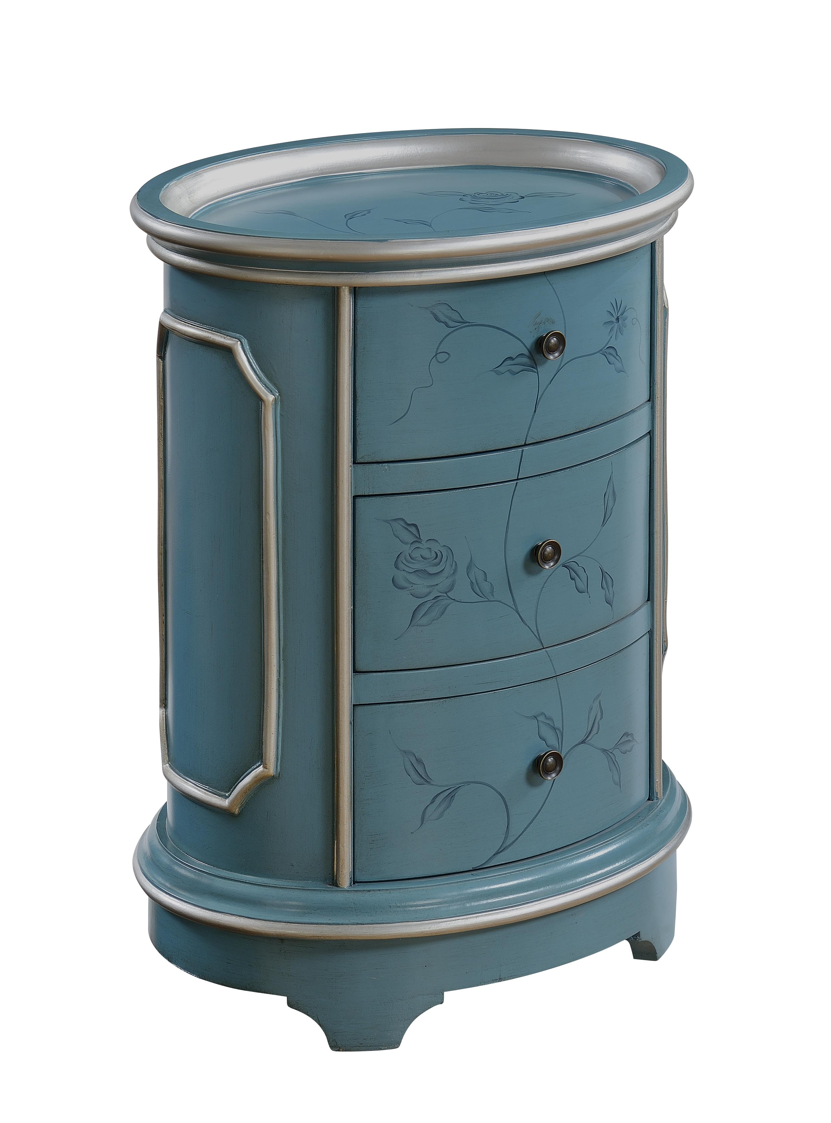 Coast to Coast Imports Coast to Coast Accents Three Drawer Chairside Chest - Item Number: 70741