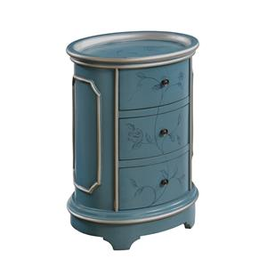 Coast to Coast Imports Coast to Coast Accents Three Drawer Chairside Chest