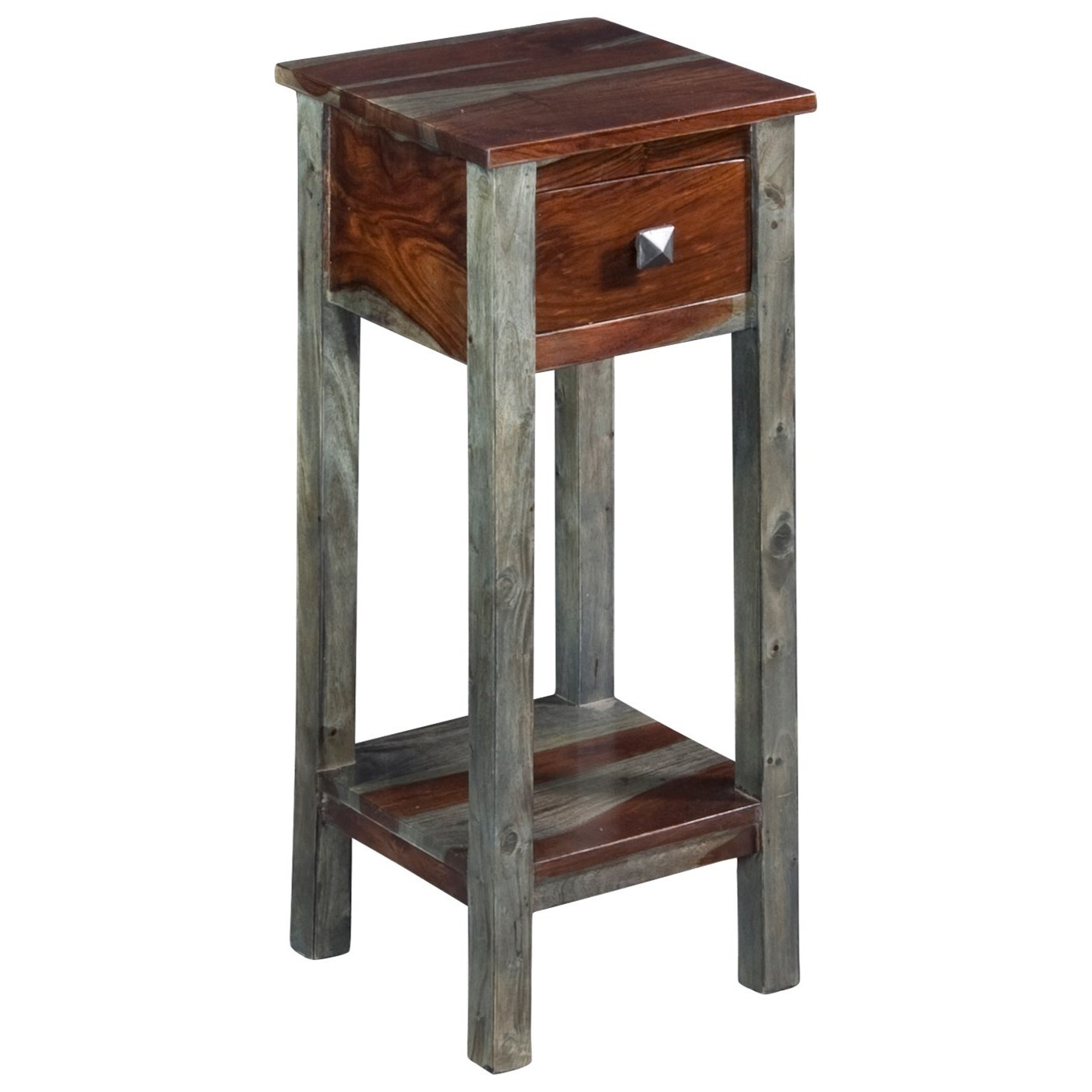 Coast to Coast Imports Grayson One Drawer Pedestal Table - Item Number: 75309