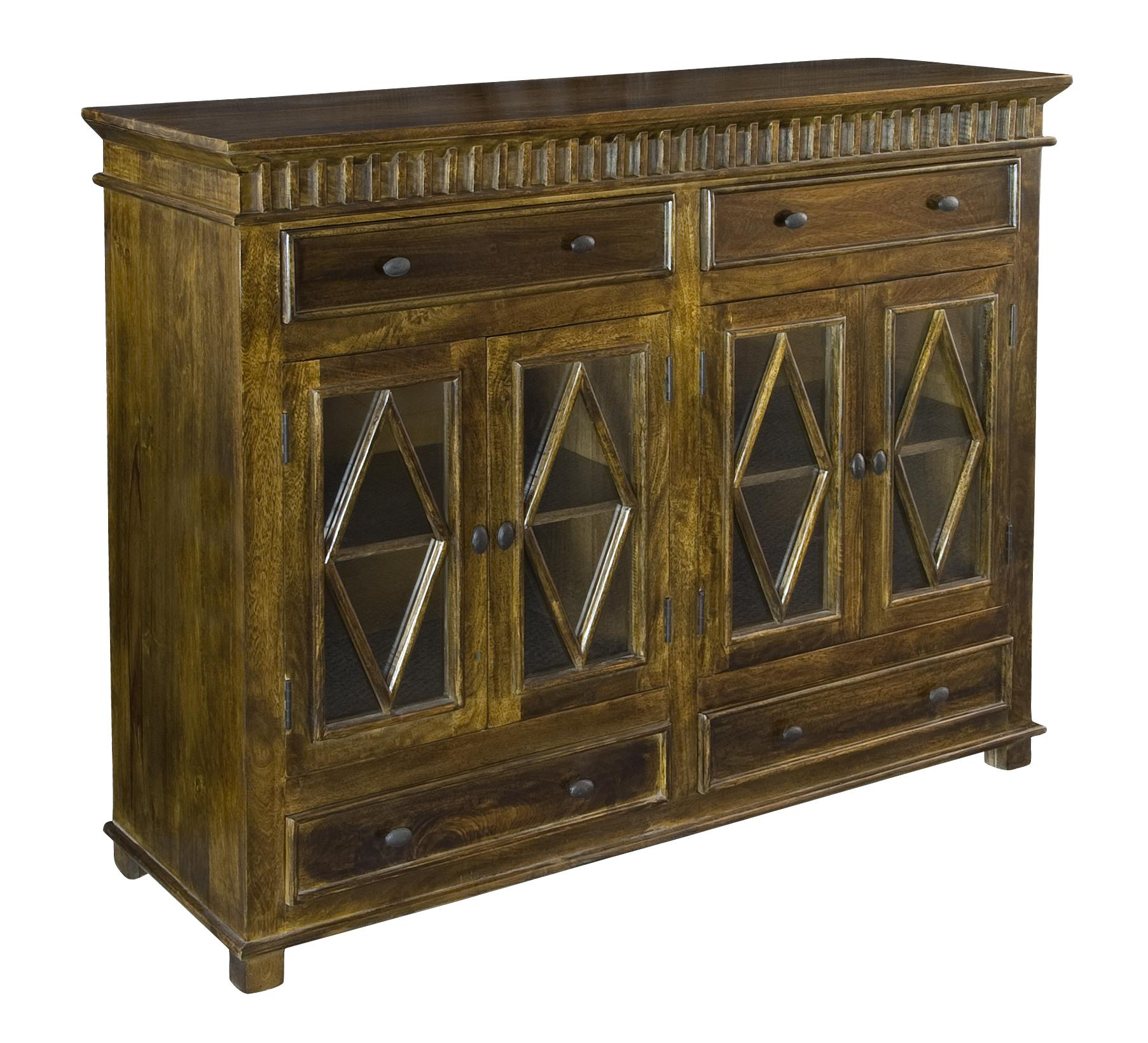 Coast to Coast Imports Coast to Coast Accents Four Door Four Drawer Sideboard - Item Number: 75322