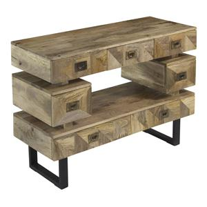 Seven Drawer Media Console