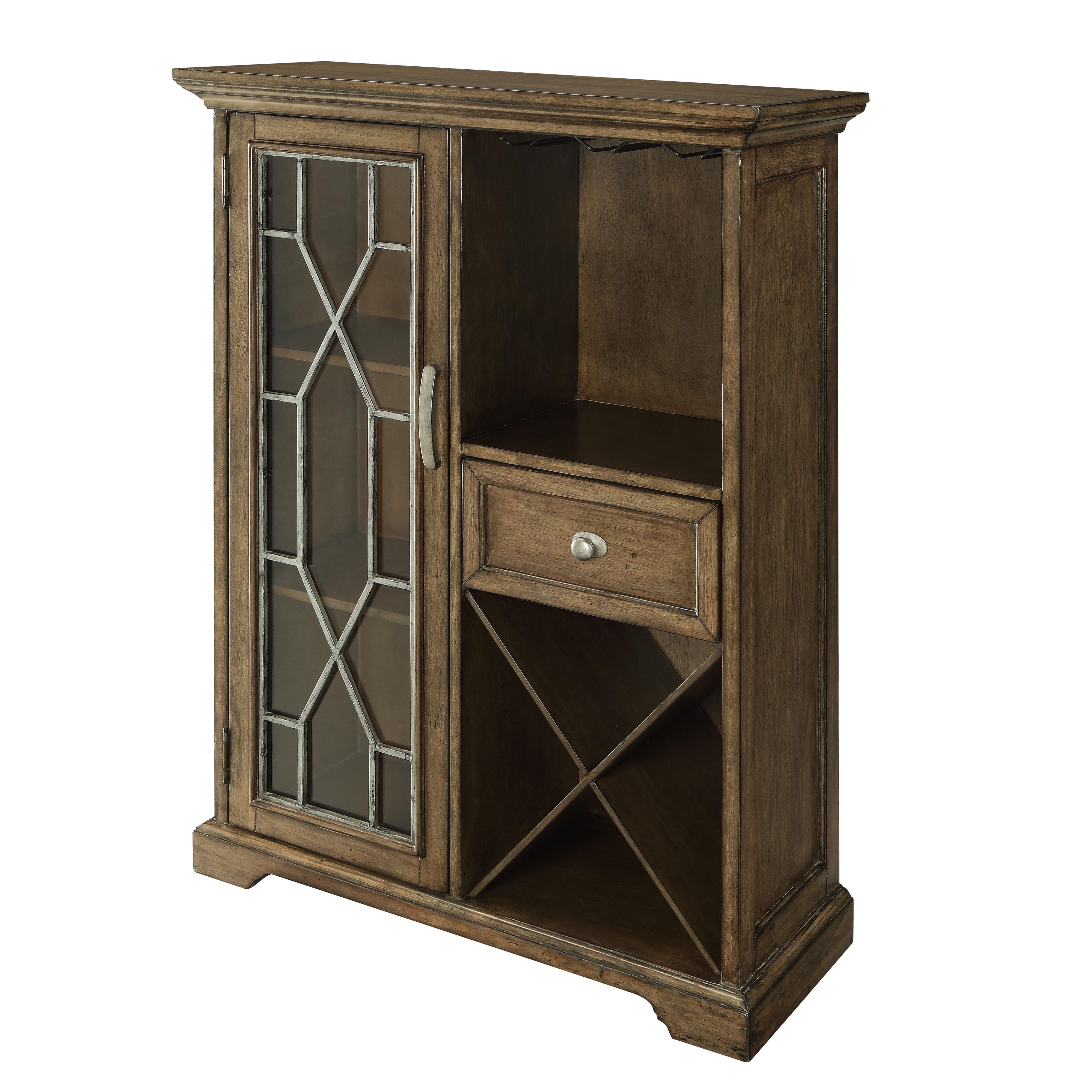 Coast to Coast Imports Coast to Coast Accents One Drawer One Door Bar Cabinet - Item Number: 78601