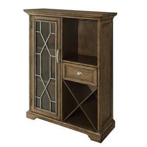 Coast to Coast Imports Coast to Coast Accents One Drawer One Door Bar Cabinet