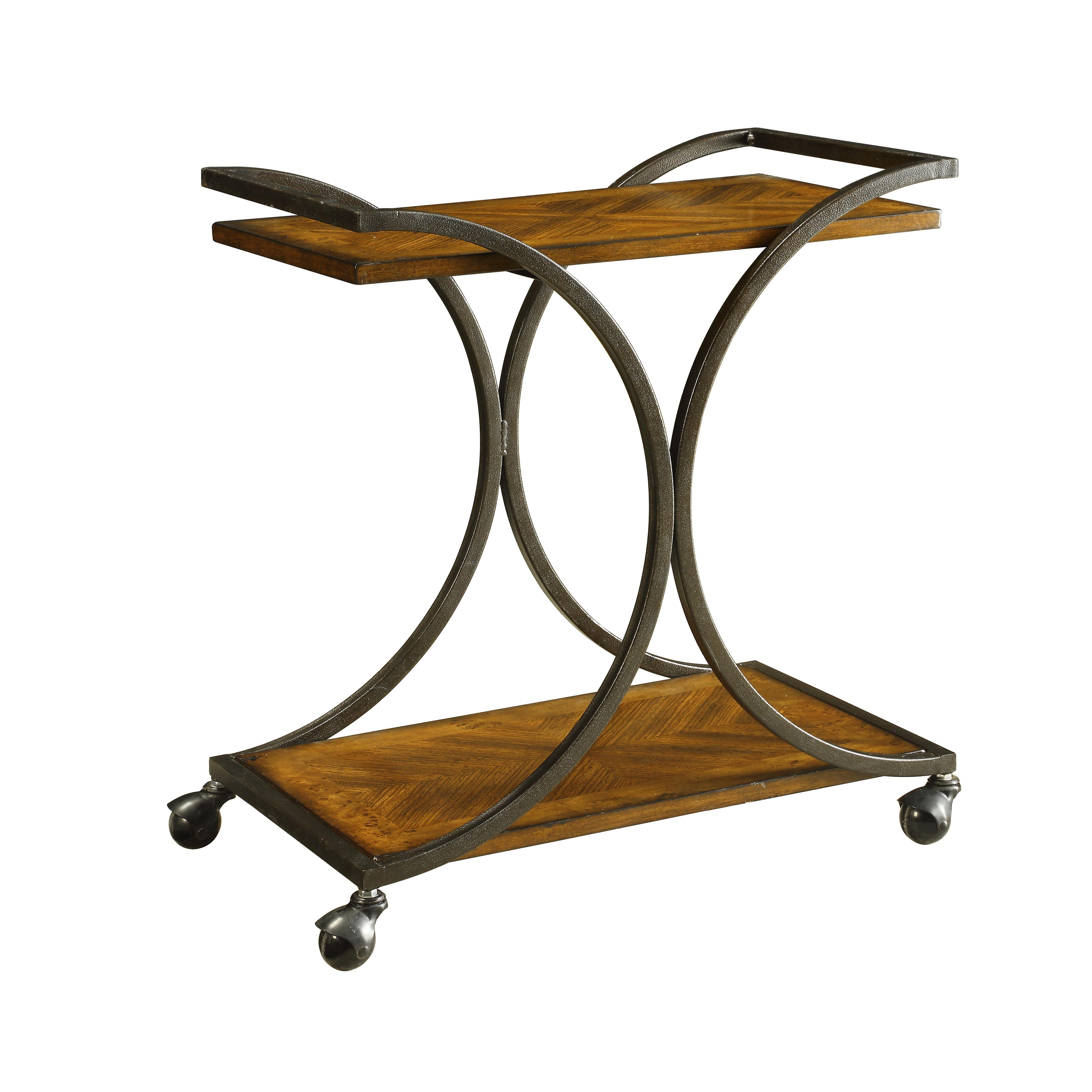 Coast to Coast Imports Coast to Coast Accents Two Tier Cart - Item Number: 78607