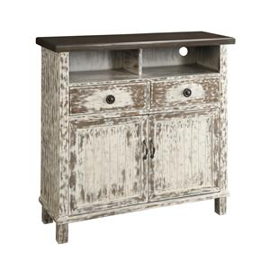 Coast to Coast Imports Coast to Coast Accents Two Drawer Two Door Media Cabinet