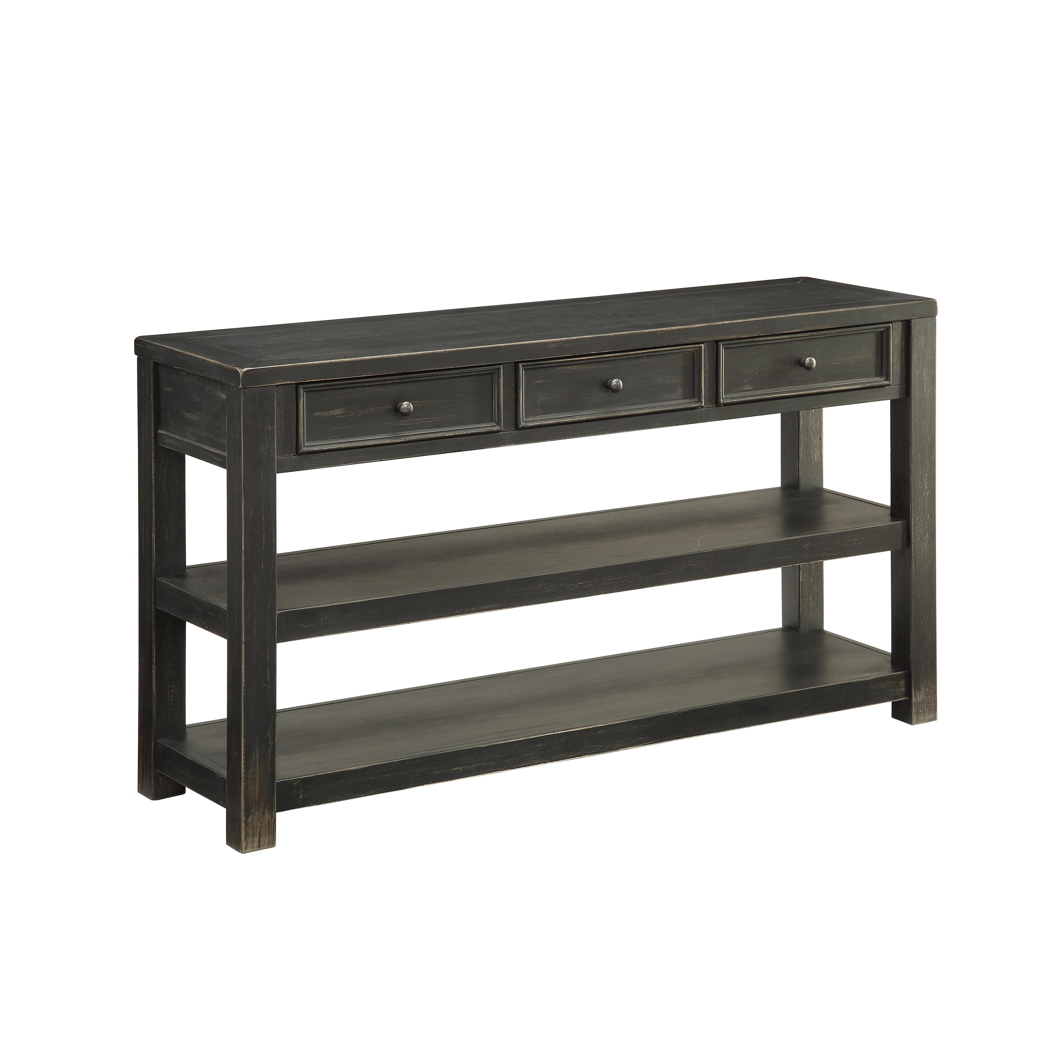 Coast to Coast Imports Coast to Coast Accents Three Drawer Console - Item Number: 78624