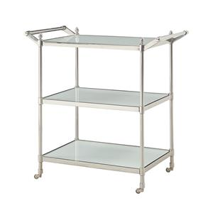 Coast to Coast Imports Coast to Coast Accents Three Tier Serving Cart