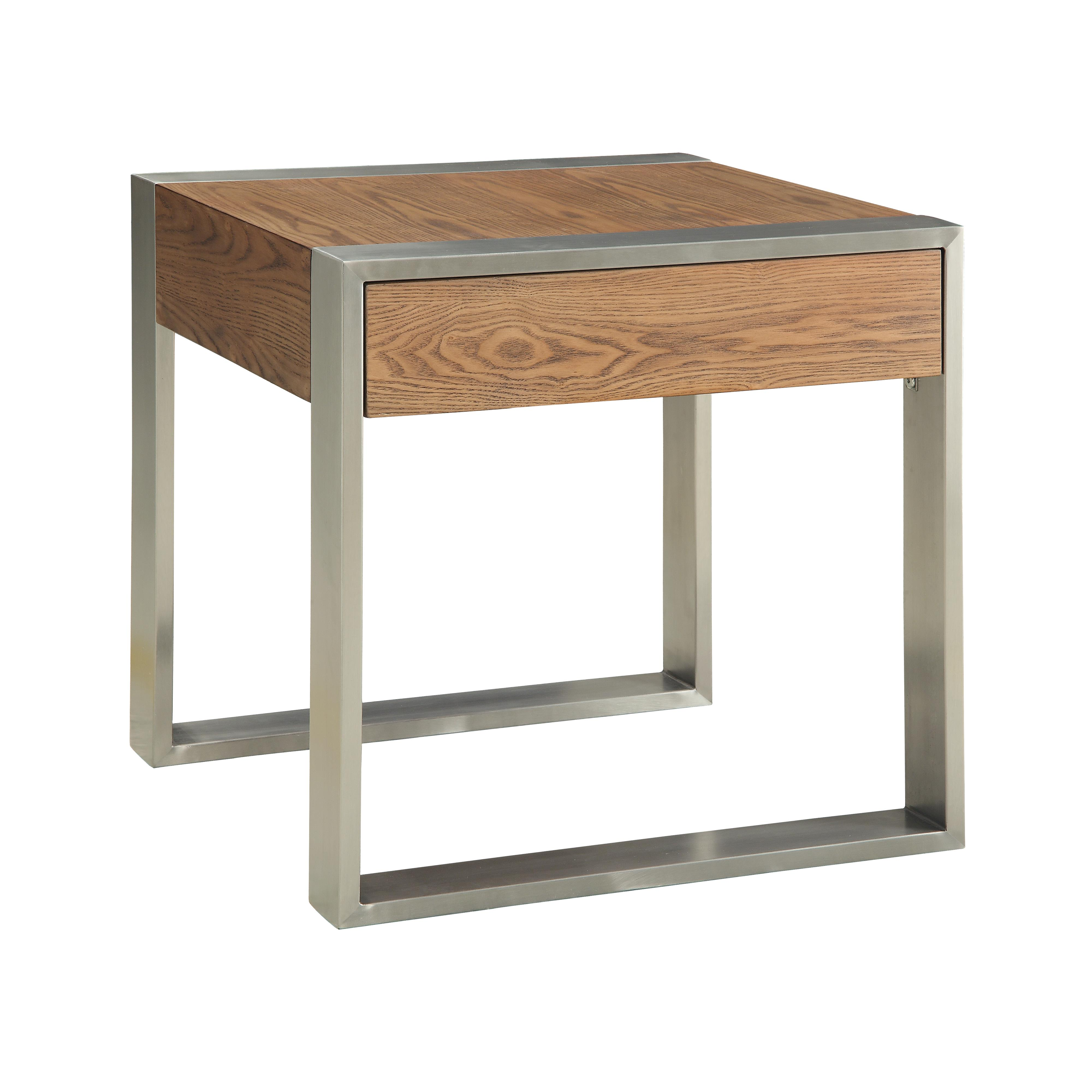 Coast to Coast Imports Coast to Coast Accents One Drawer End Table - Item Number: 78648