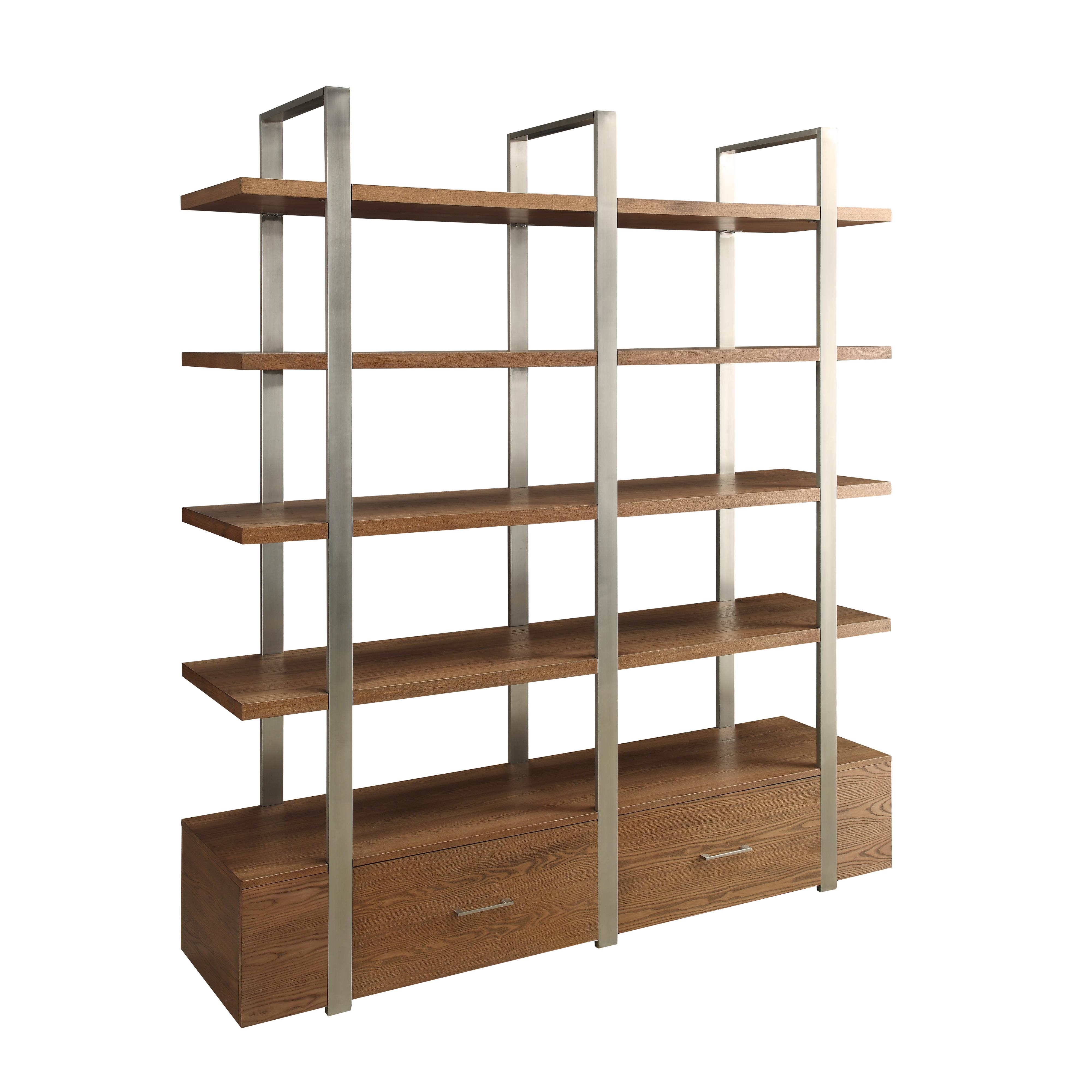 Coast to Coast Imports Coast to Coast Accents Two Drawer Bookcase - Item Number: 78650