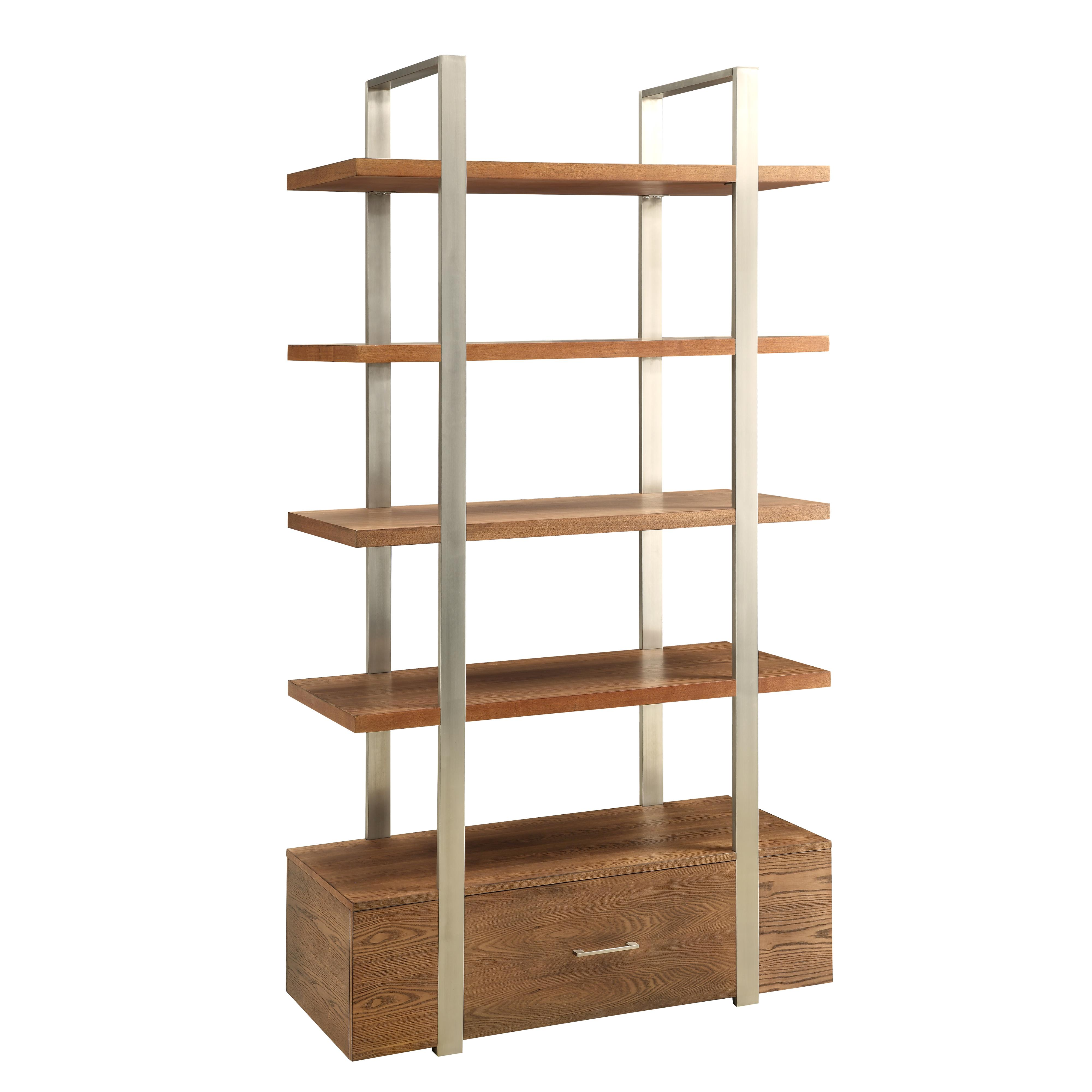 Coast to Coast Imports Coast to Coast Accents One Drawer Bookcase - Item Number: 78651