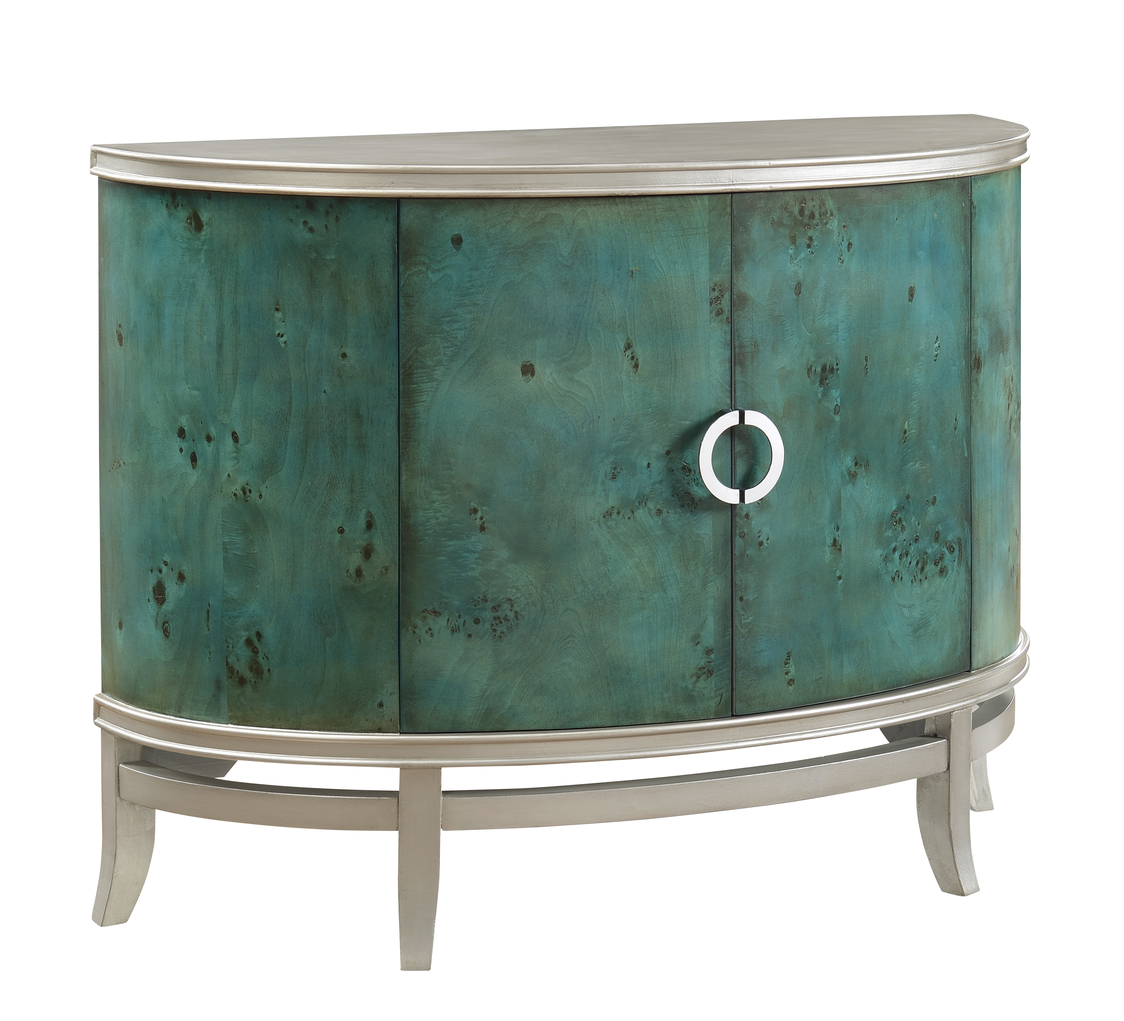 Coast to Coast Imports Coast to Coast Accents Two Door Demilume Cabinet - Item Number: 78664