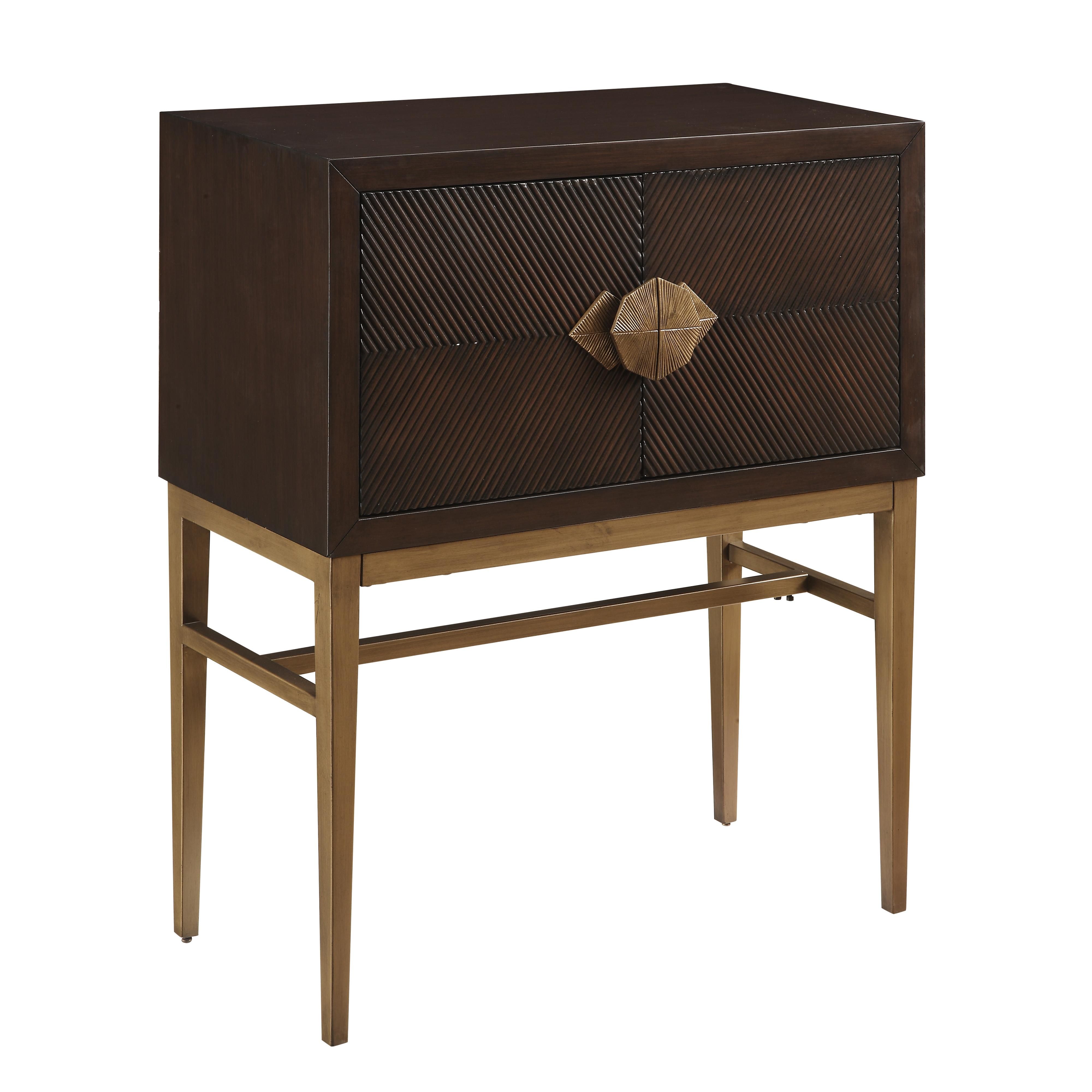 Coast to Coast Imports Coast to Coast Accents Two Door Bar Cabinet - Item Number: 78668