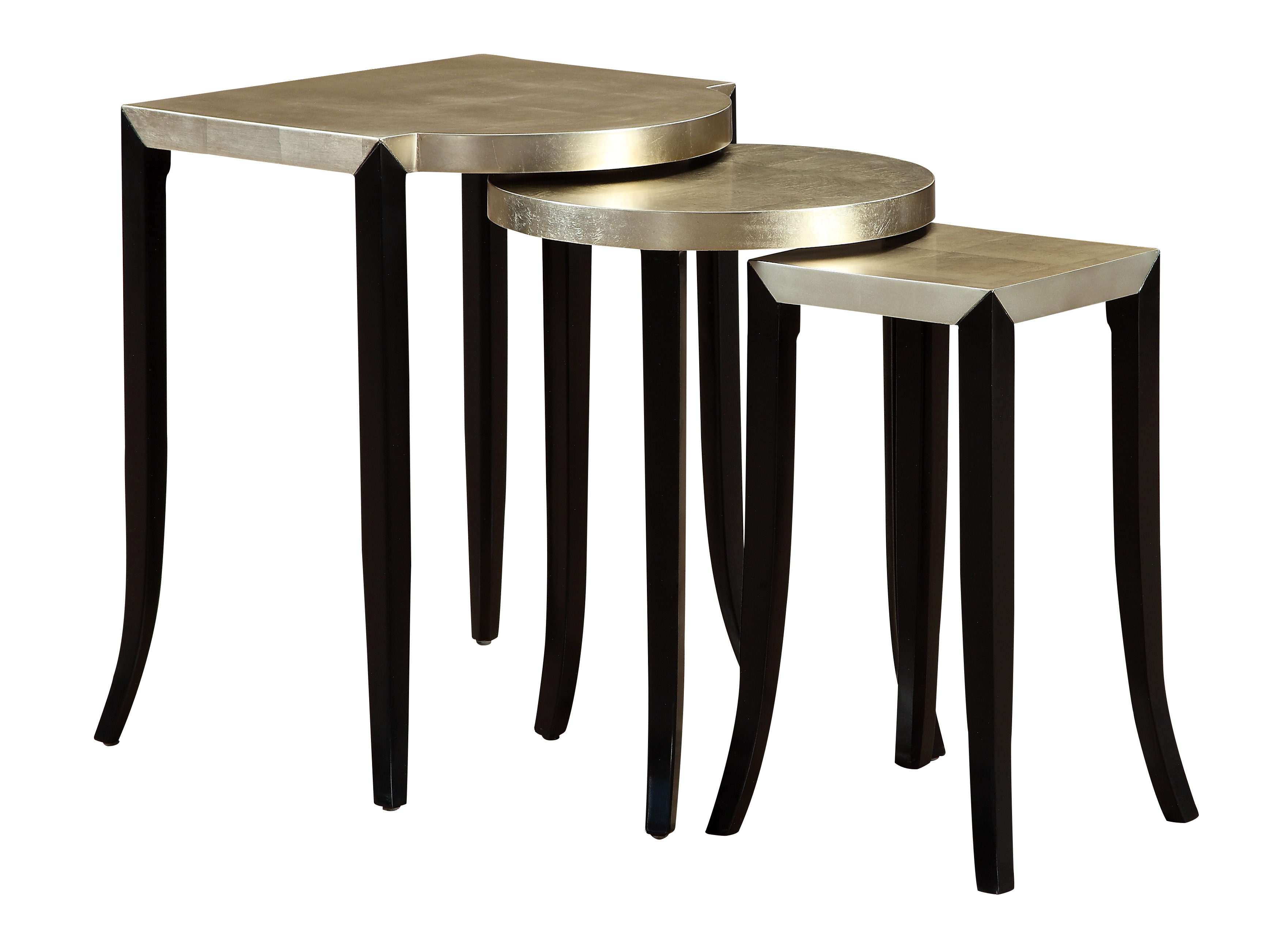 Coast to Coast Imports Coast to Coast Accents Set of Three Nesting Accent Tables - Item Number: 78682