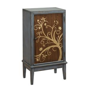 Coast to Coast Imports Coast to Coast Accents One Door Bar Cabinet