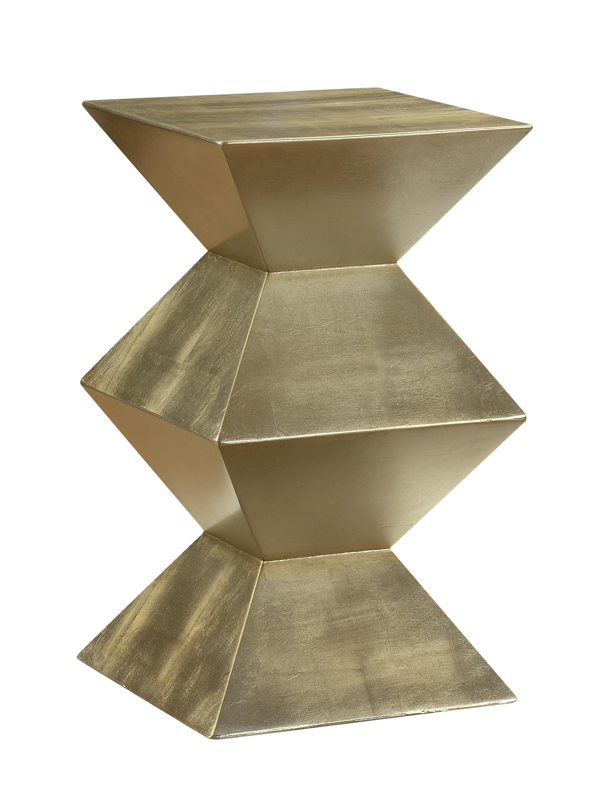Coast to Coast Imports Coast to Coast Accents Geometric Chairside Pedestal - Item Number: 78705