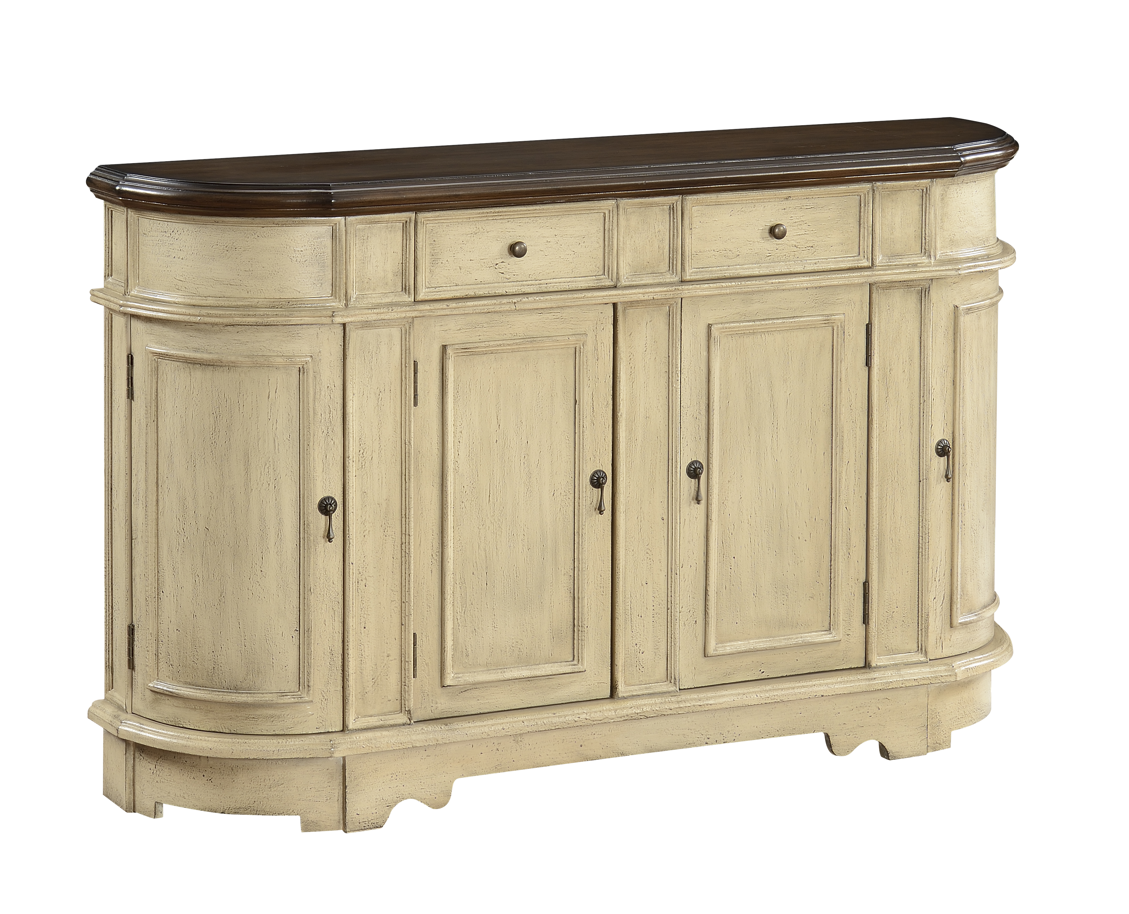 Coast to Coast Imports Coast to Coast Accents Two Drawer Four Door Credenza - Item Number: 78713