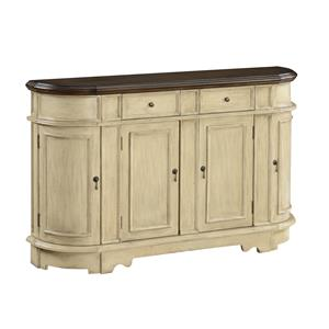 Coast to Coast Imports Coast to Coast Accents Two Drawer Four Door Credenza